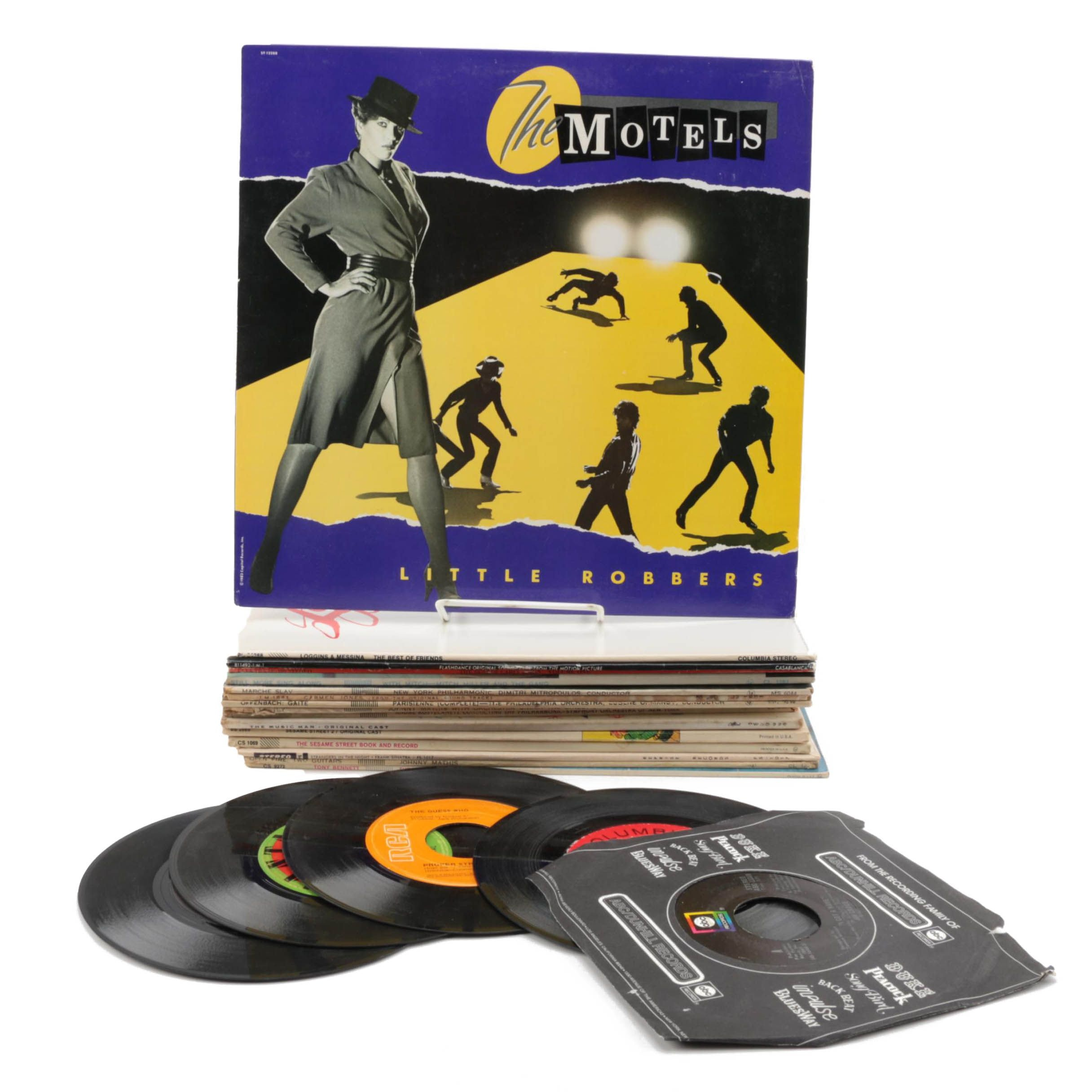 Sinatra, Tony Bennett, The Motels, Sesame Street and Other Vintage Records