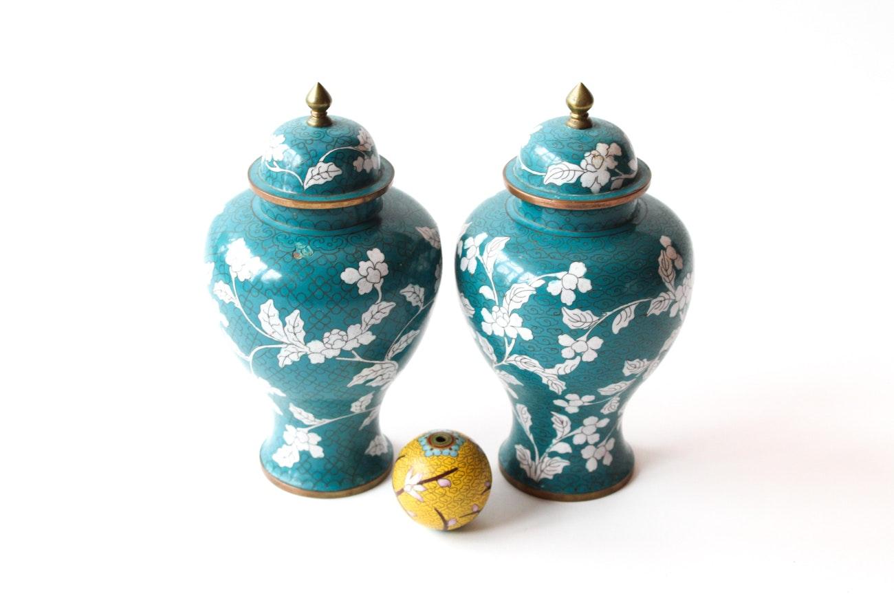 Chinese Cloisonné Vessels
