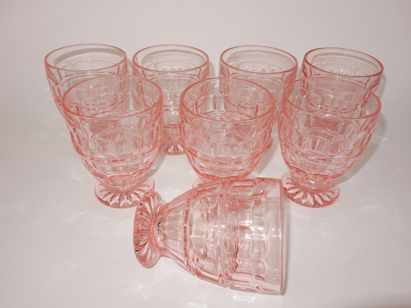 Pink Depression Glass Group | EBTH