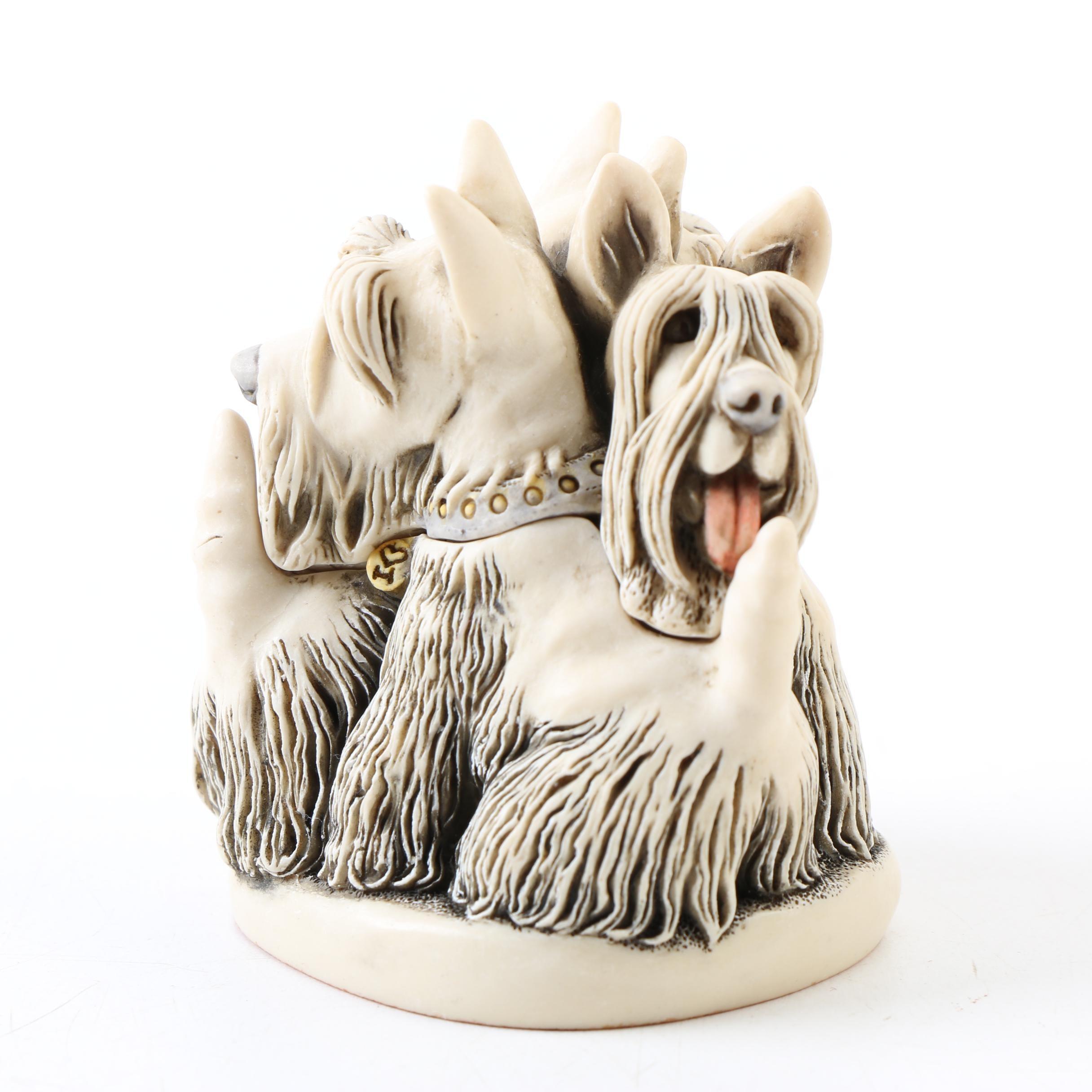 Harmony Kingdom Treasure Jests Scottie Dog Figurine