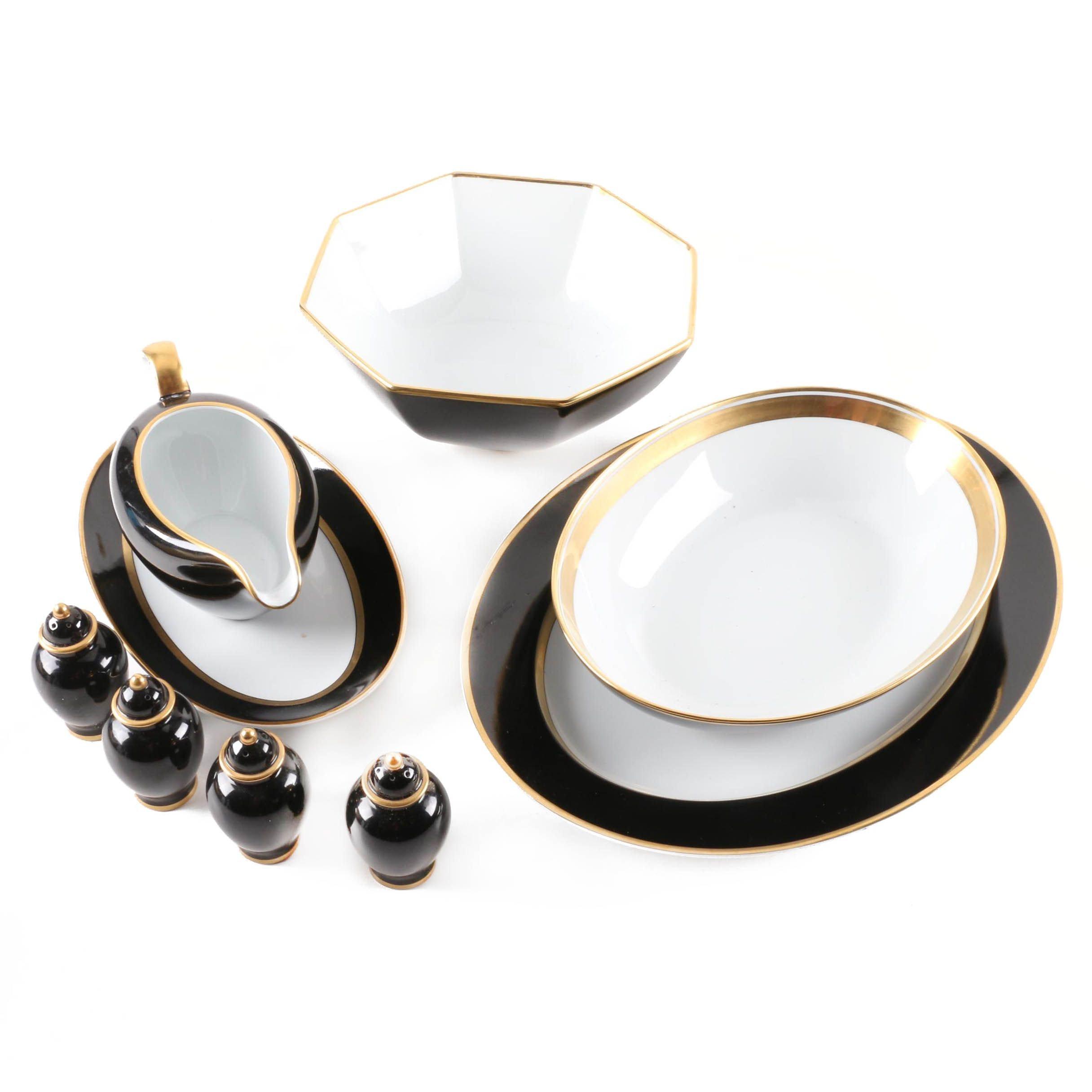 "Fitz and Floyd ""Renaissance"" Porcelain Tableware"