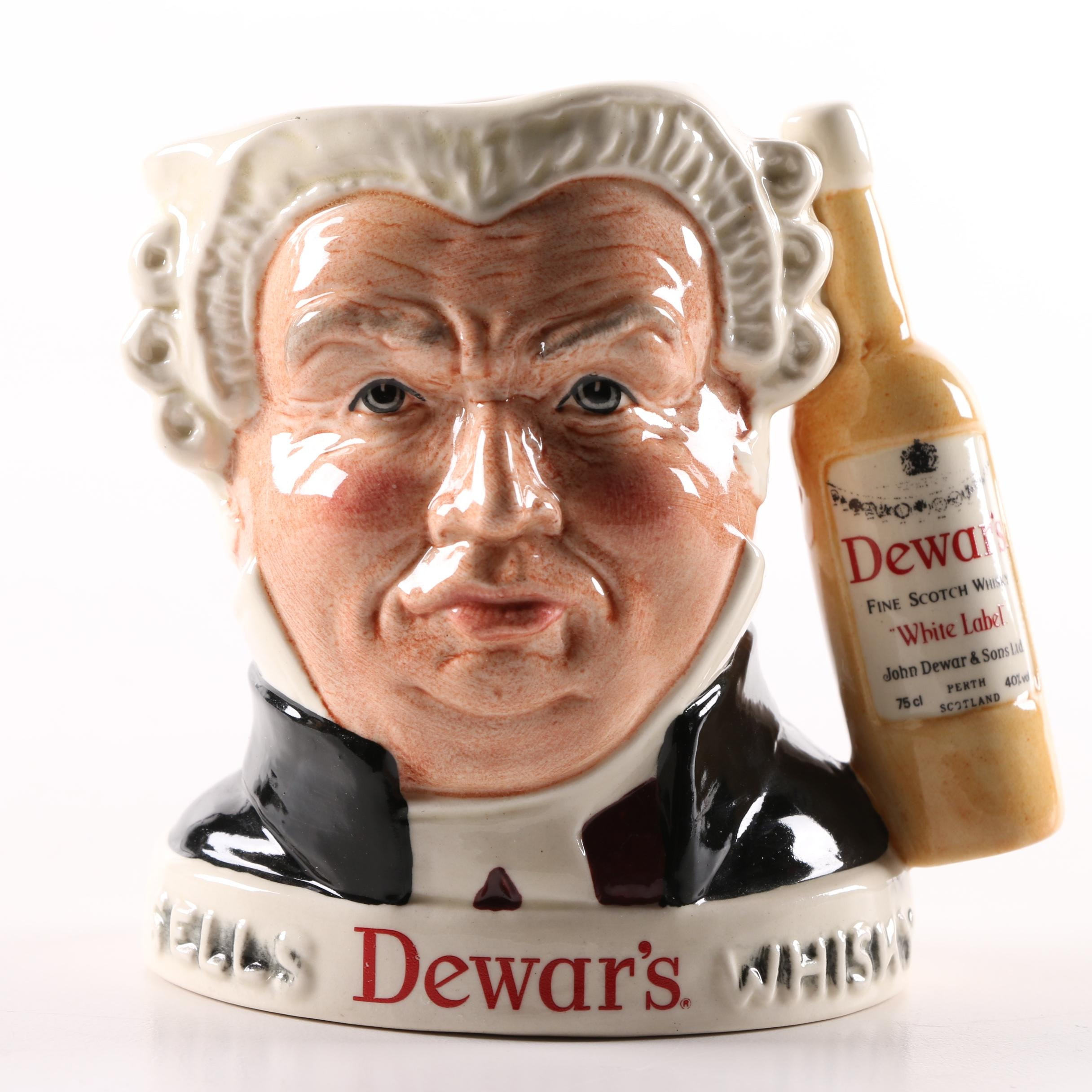 "Royal Doulton Dewar's Limited Edition ""Sgt Buzfuz"""