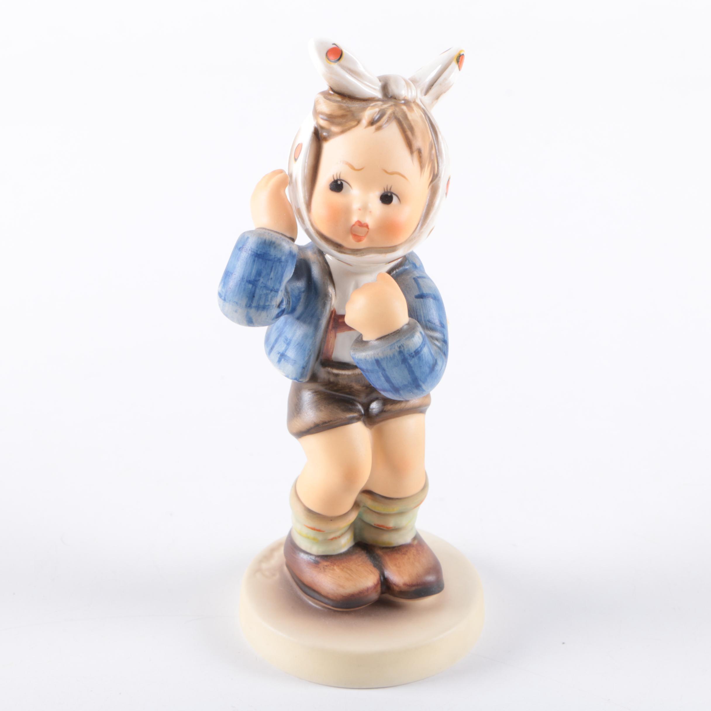 "Hummel ""Boy with Toothache"" Figurine"