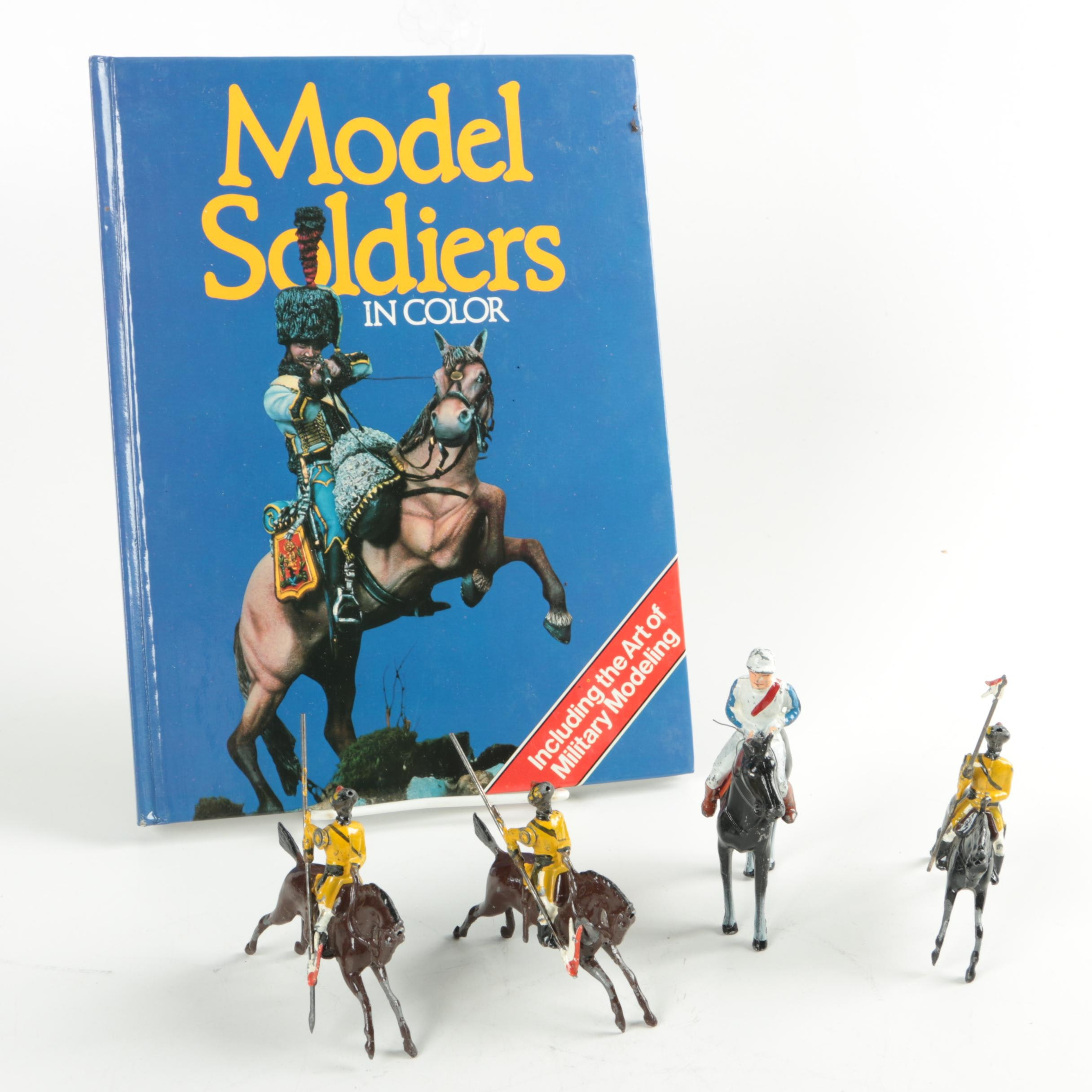 Model Cavalry Soldiers with Guidebook
