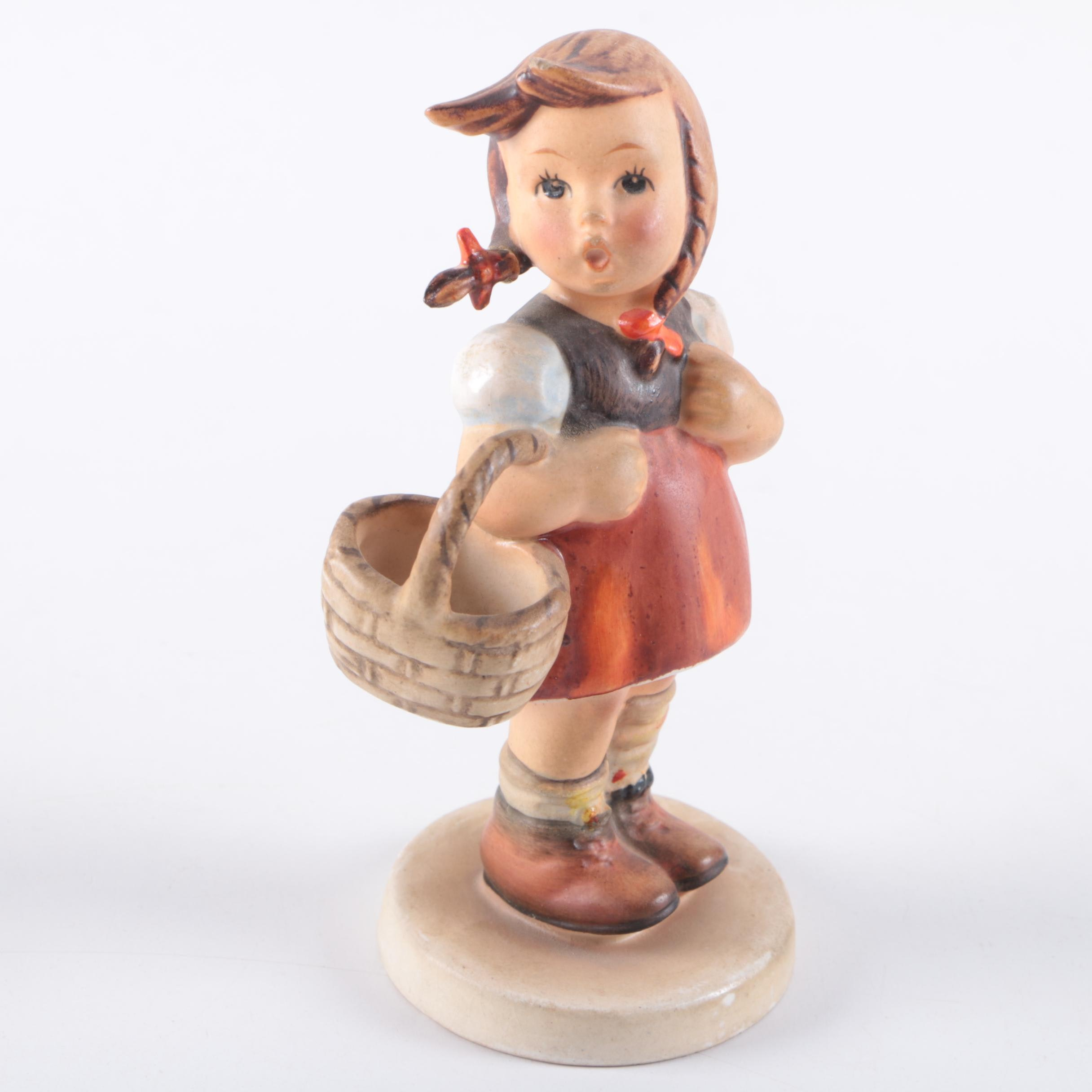 "Hummel Figurine ""Little Shopper"""