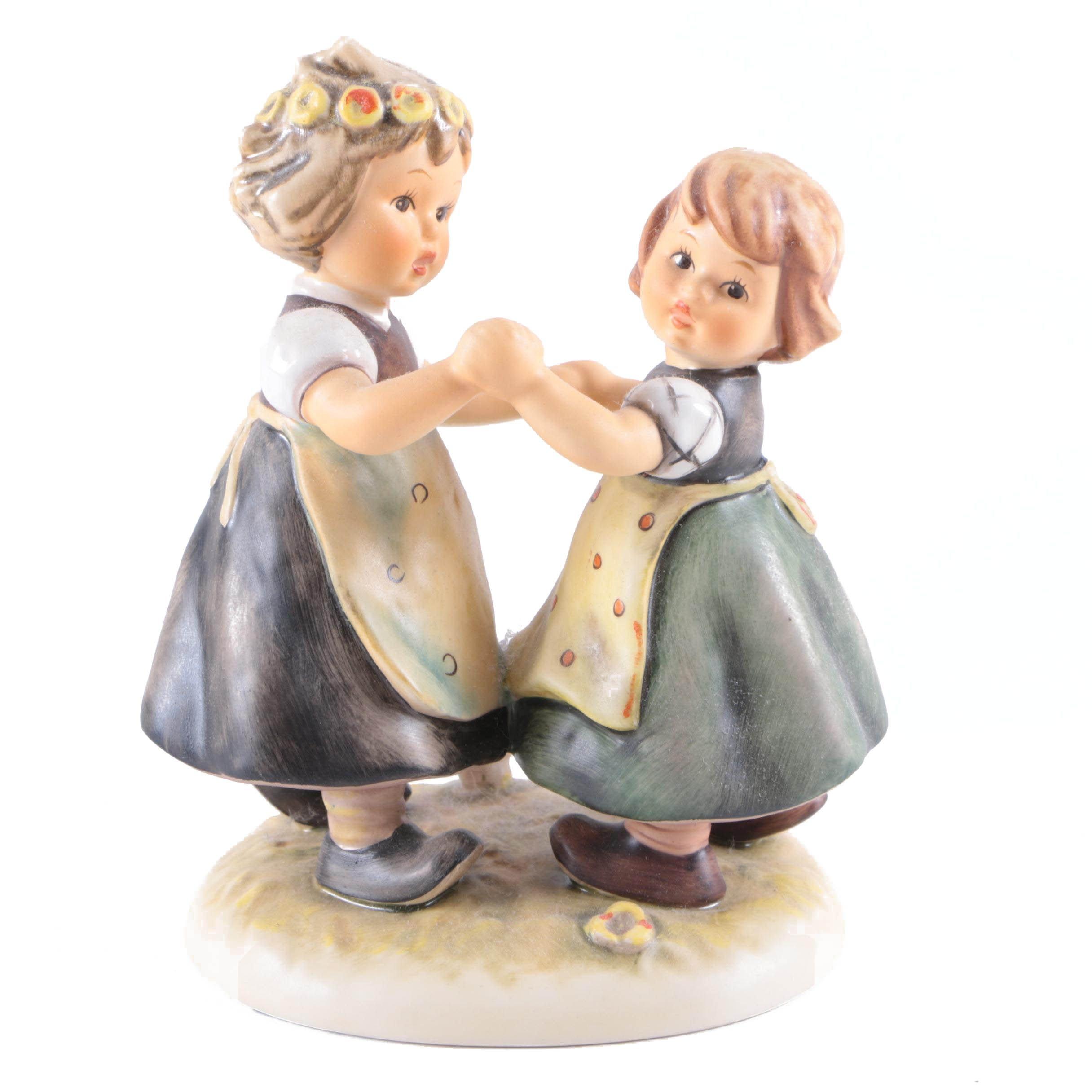 """Goebel Hummel """"Spring Dance"""" Porcelain Figurine"""