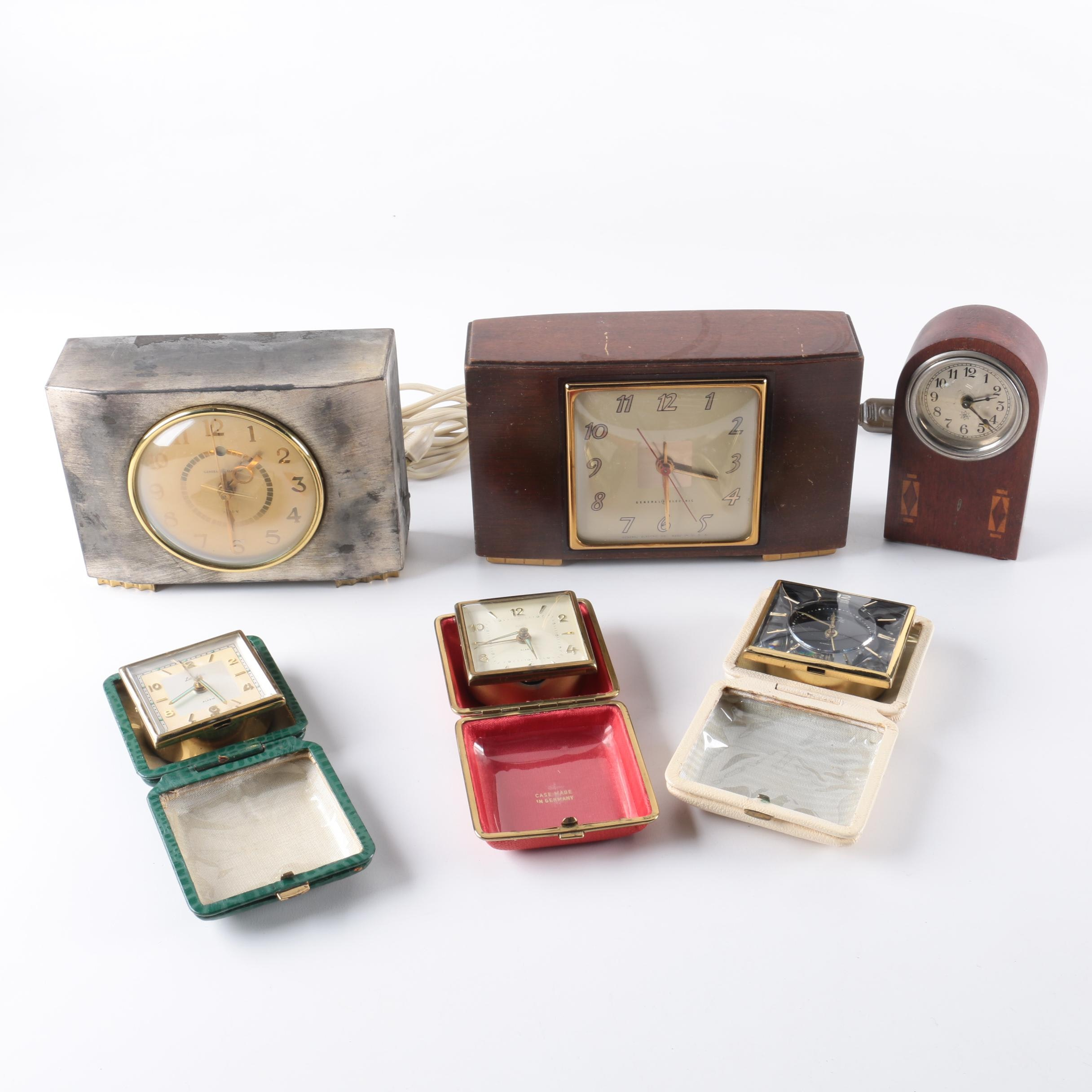 Retro Travel and Shelf Clocks