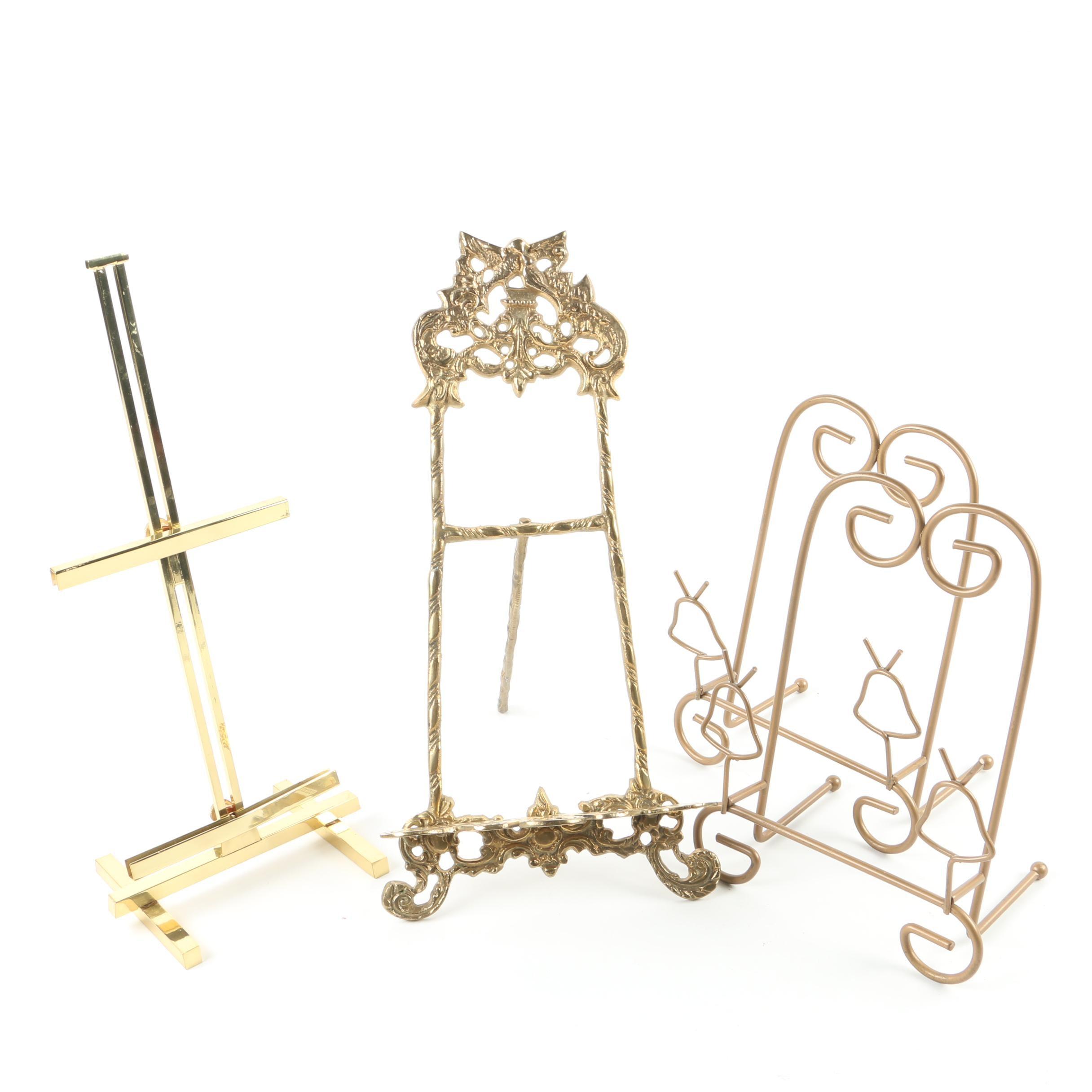 Decorative Brass Stands