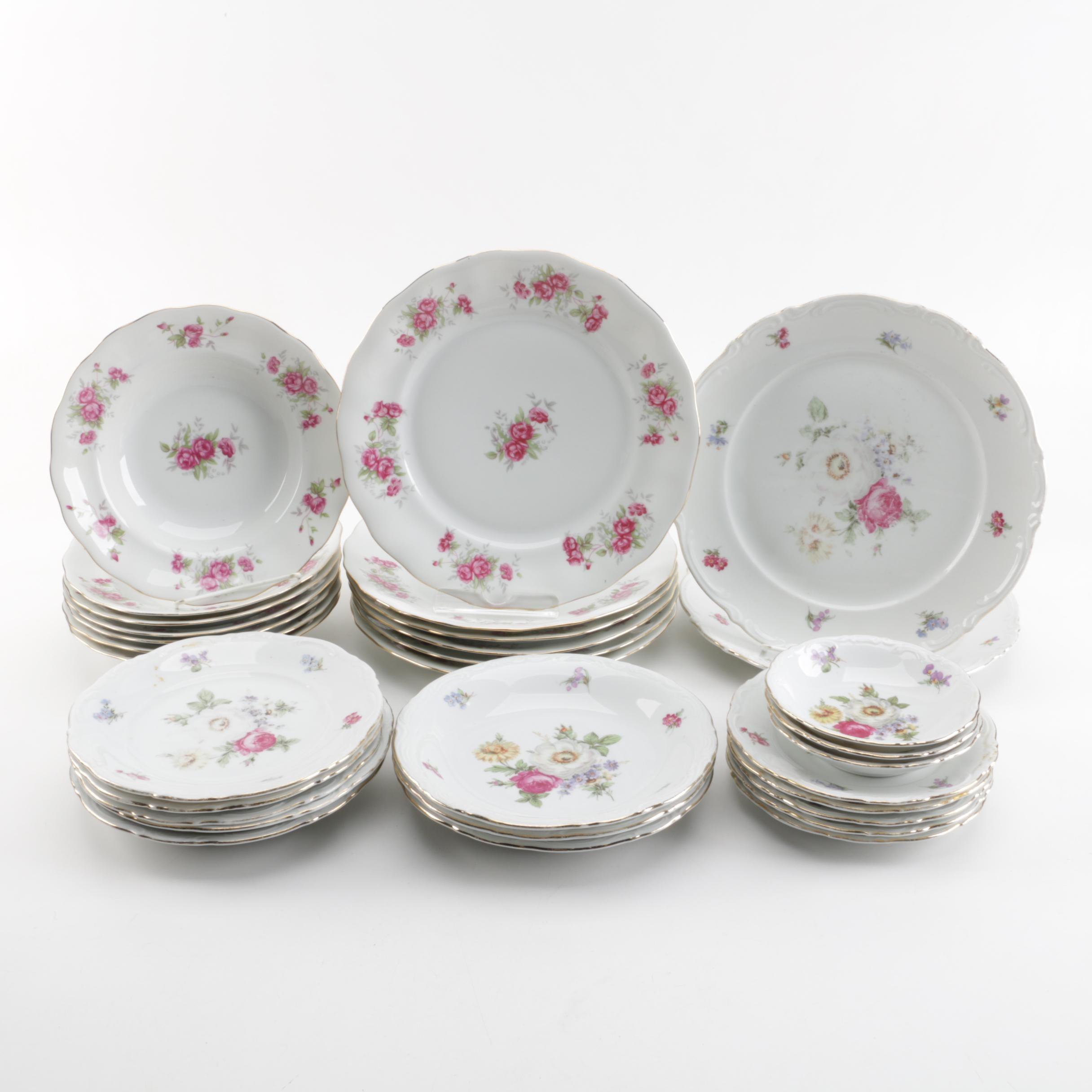 Mitterteich Bavarian Porcelain Tableware