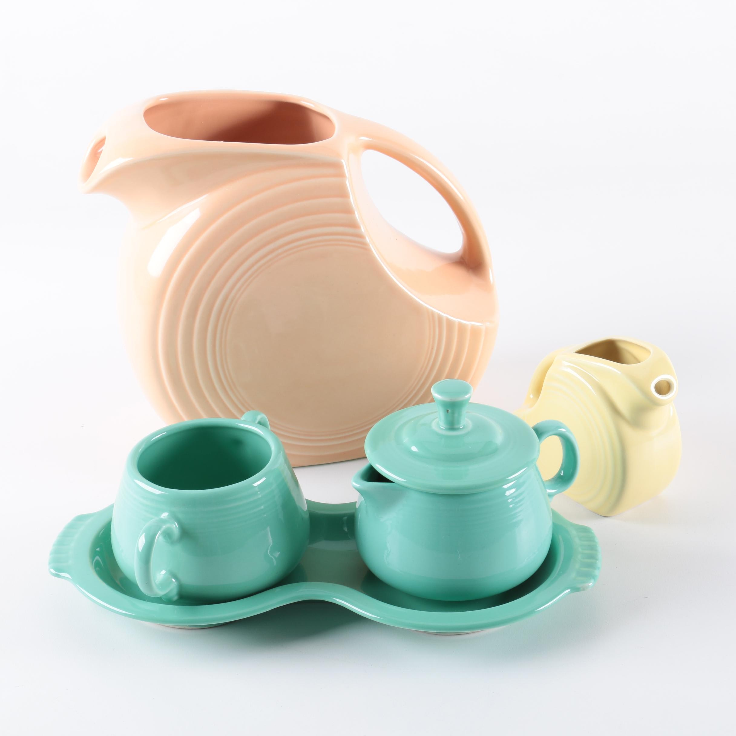 "Homer Laughlin ""Fiesta"" Ceramic Serveware"