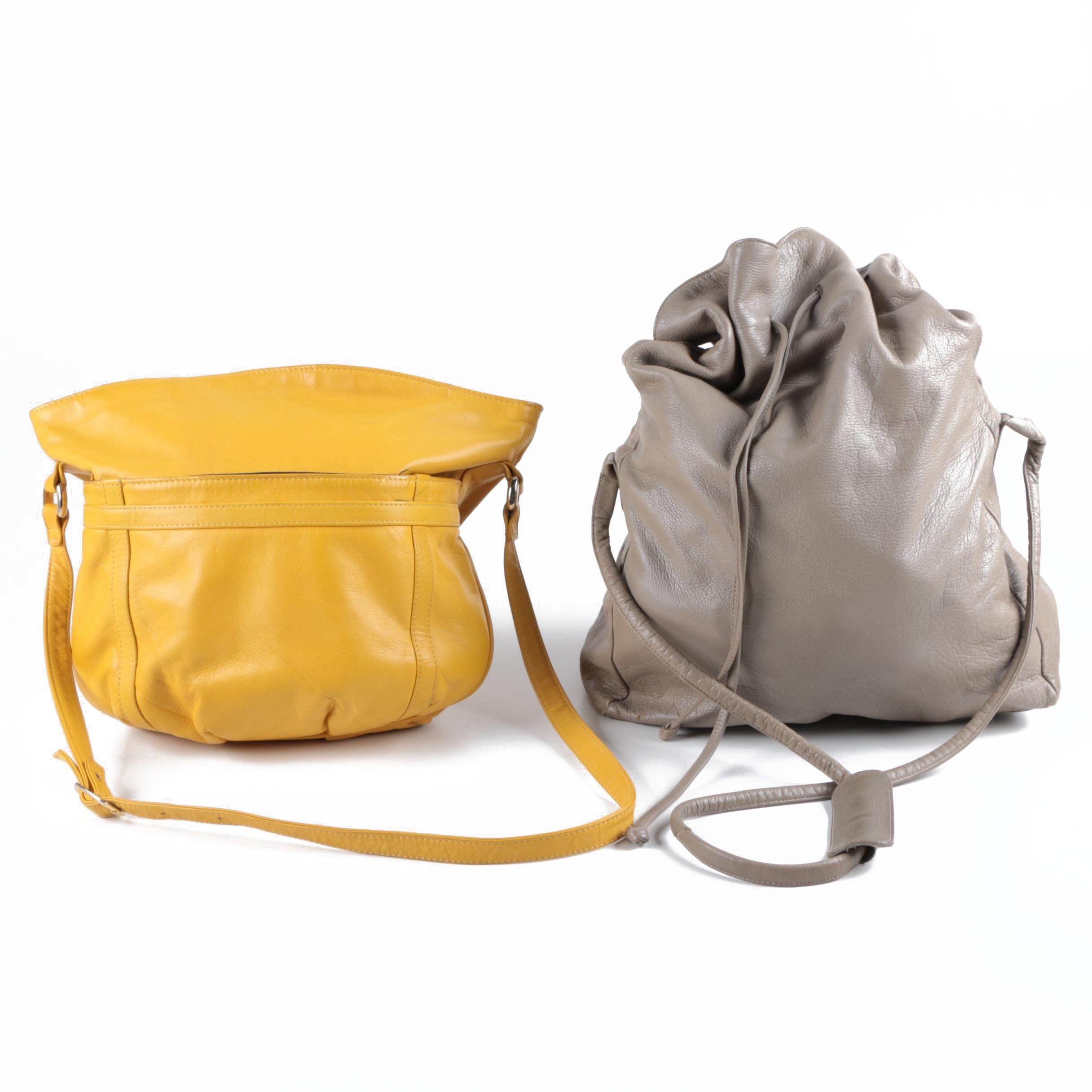 Two Leather Shoulder Bags