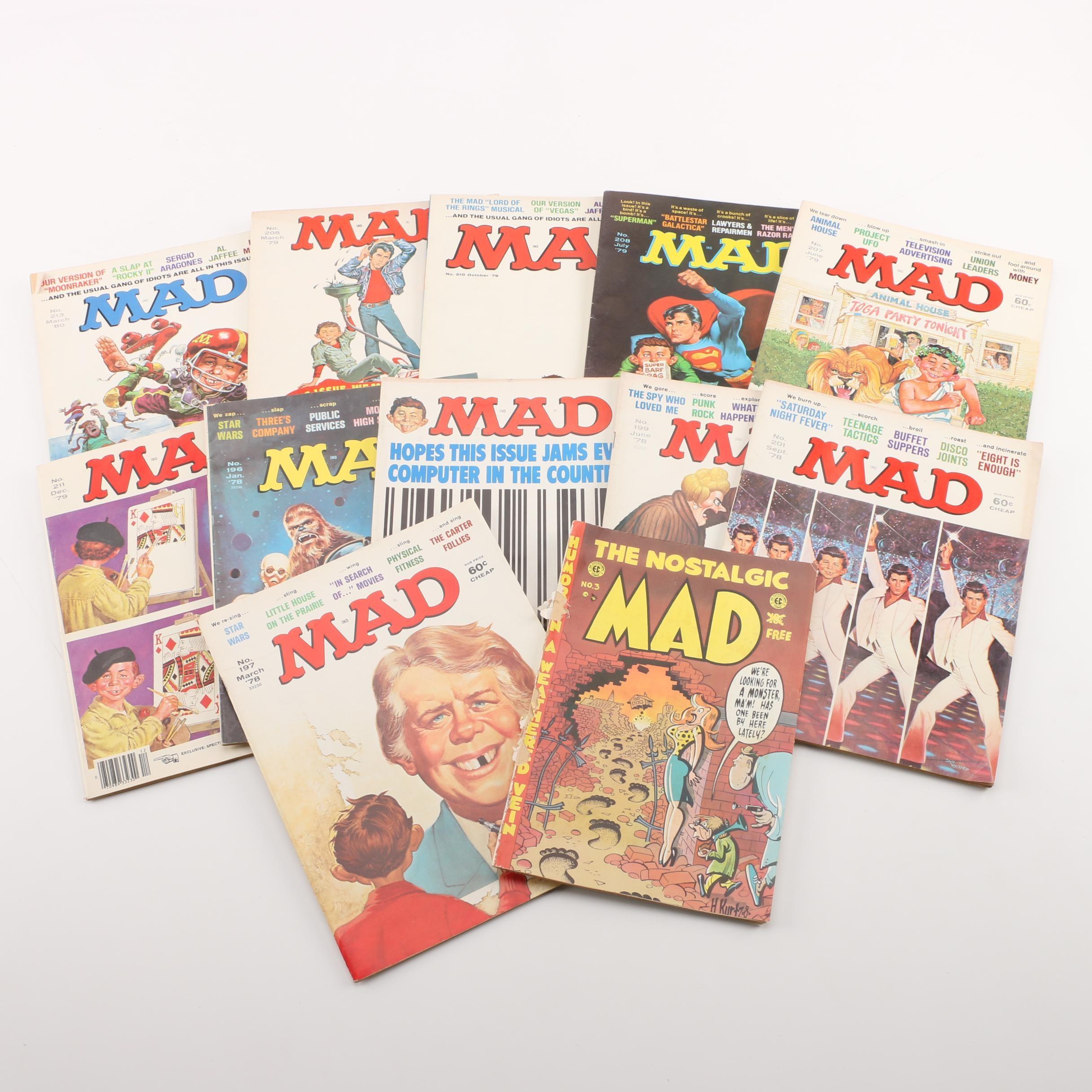 "1978-1980 ""Mad"" Magazines and EC Comics ""The Nostalgic Mad"""