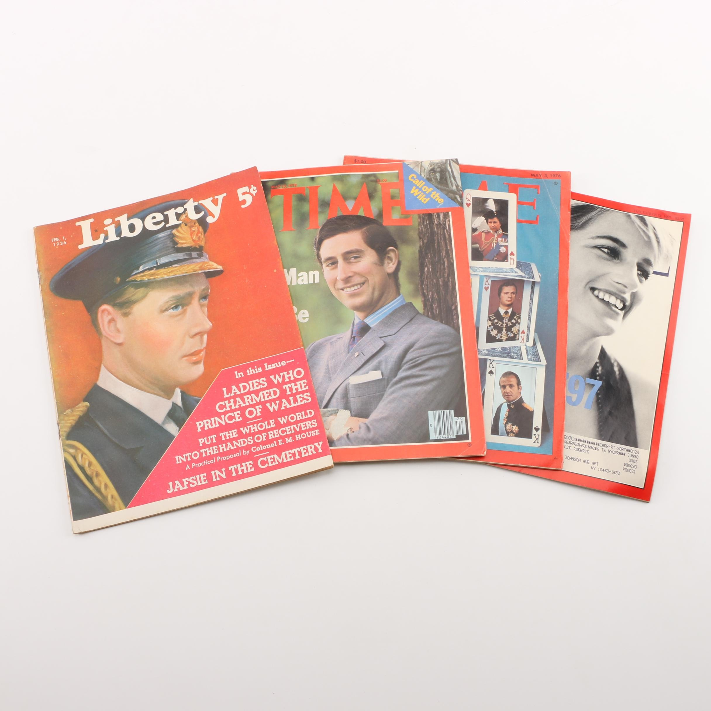 """1930s-1970s """"Time"""" and """"Liberty"""" Magazines"""