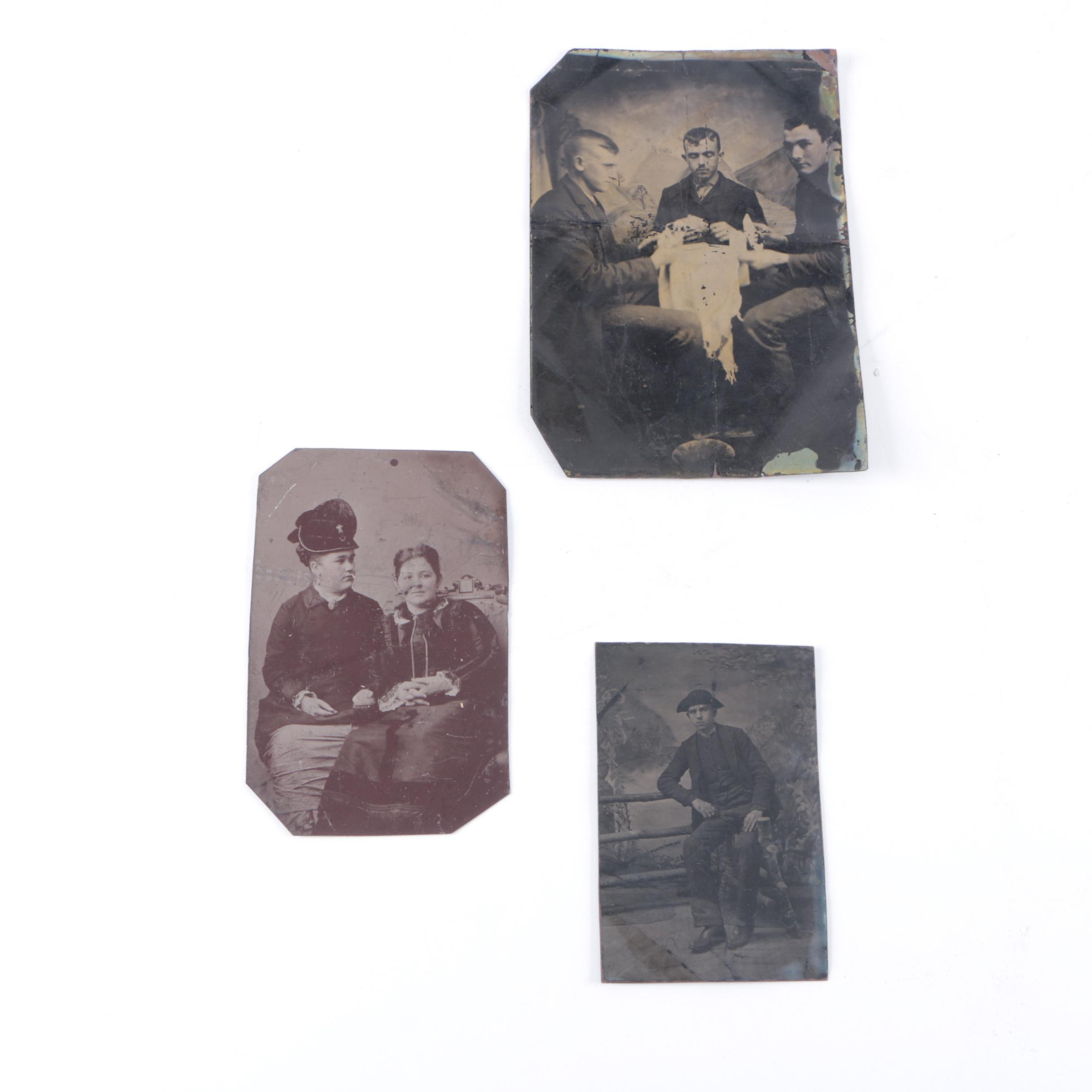 Late 19th Century Tintype Photos