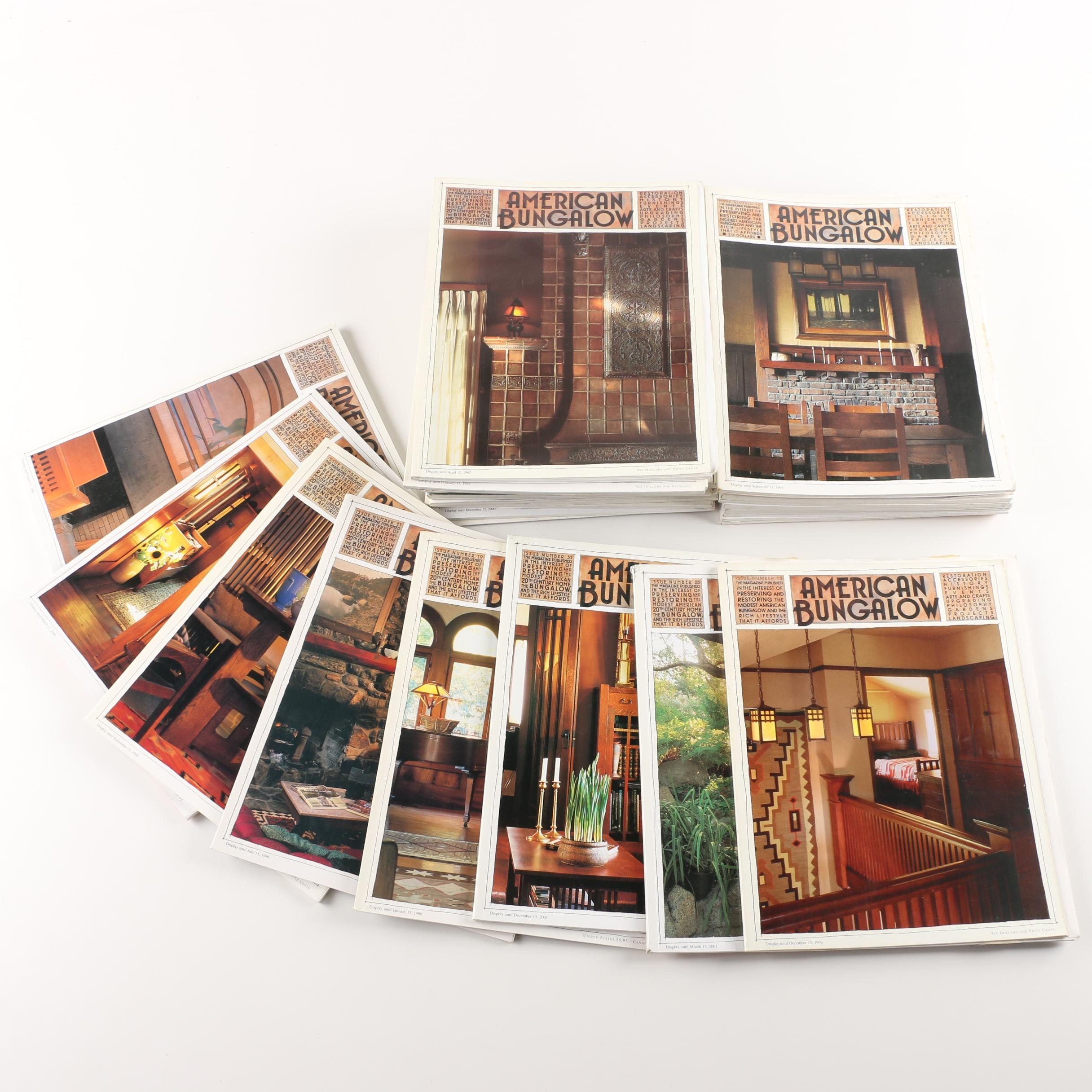"""American Bungalow"" Magazines"