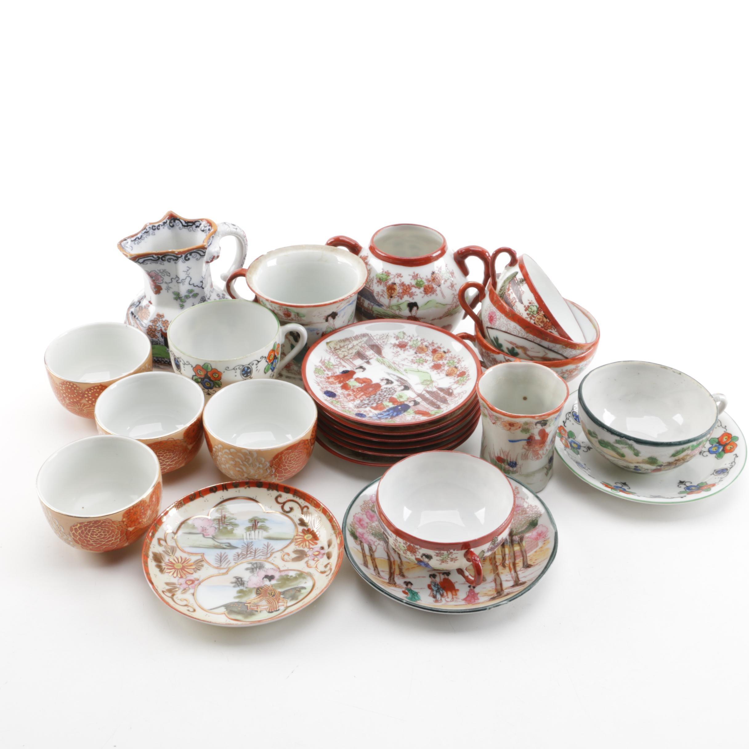 Vintage Japanese Porcelain Dinnerware ...  sc 1 st  EBTH.com & Vintage Japanese Porcelain Dinnerware : EBTH