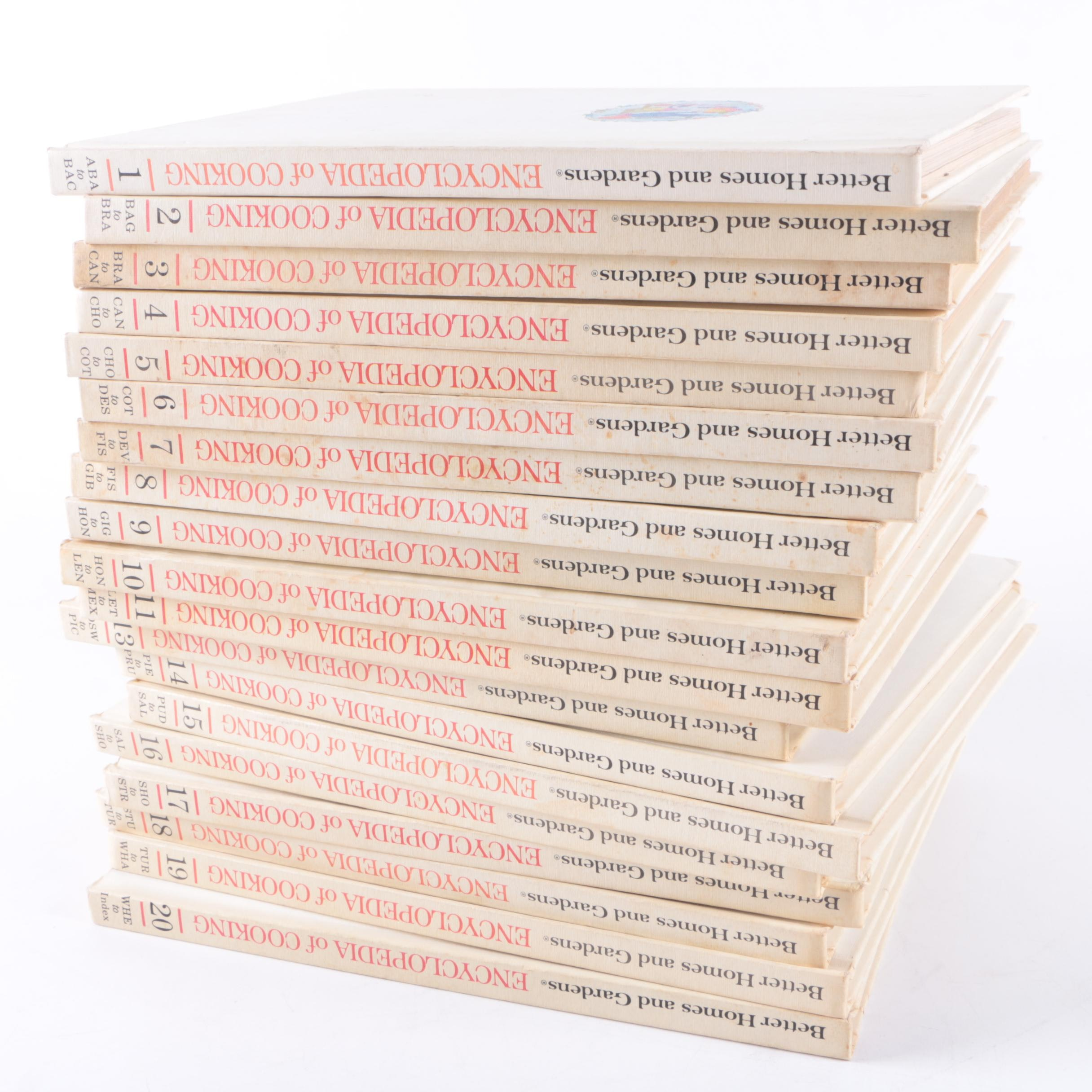 """""""Better Homes and Gardens Encyclopedia of Cooking"""" Multi-Volume Set"""