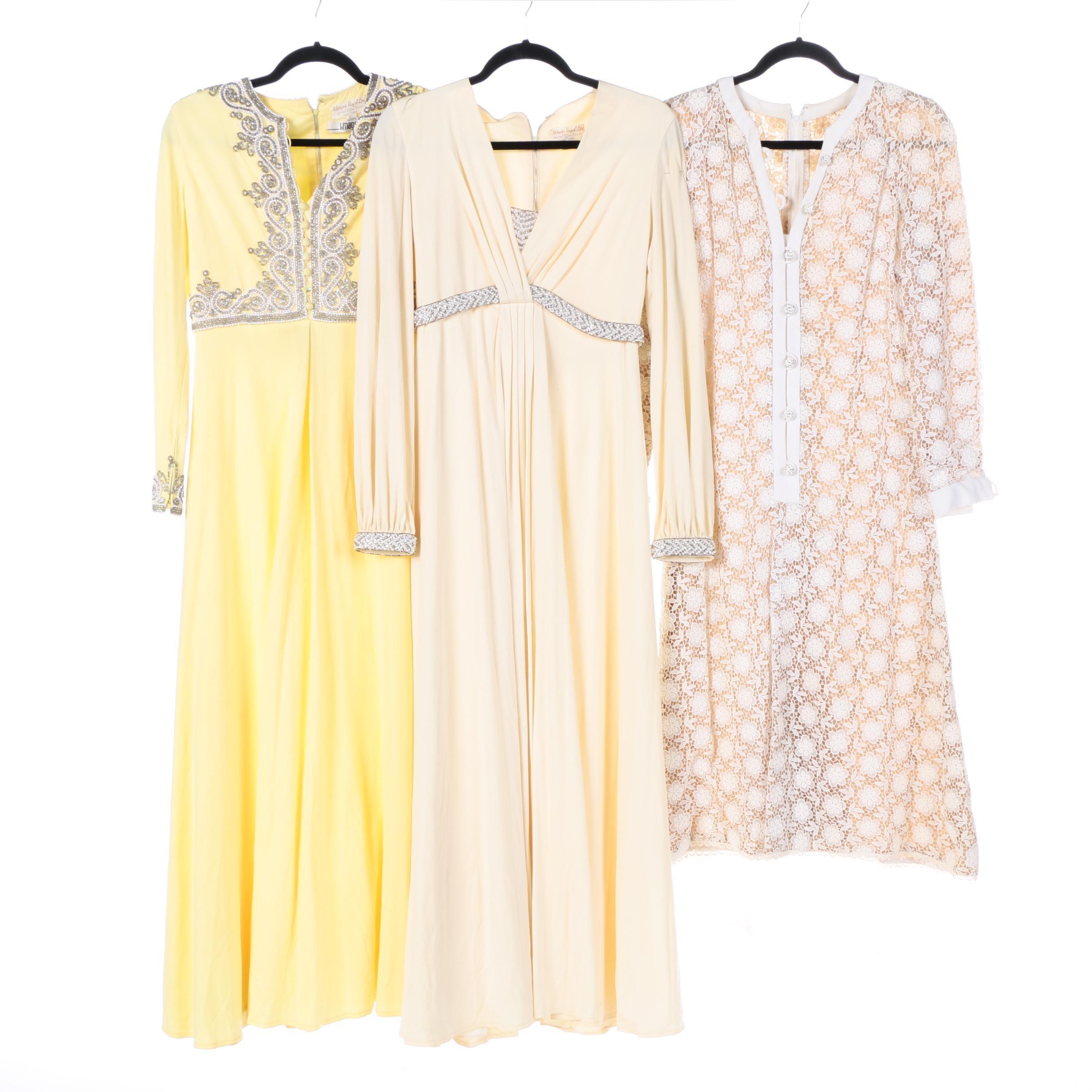 Three Vintage Dresses