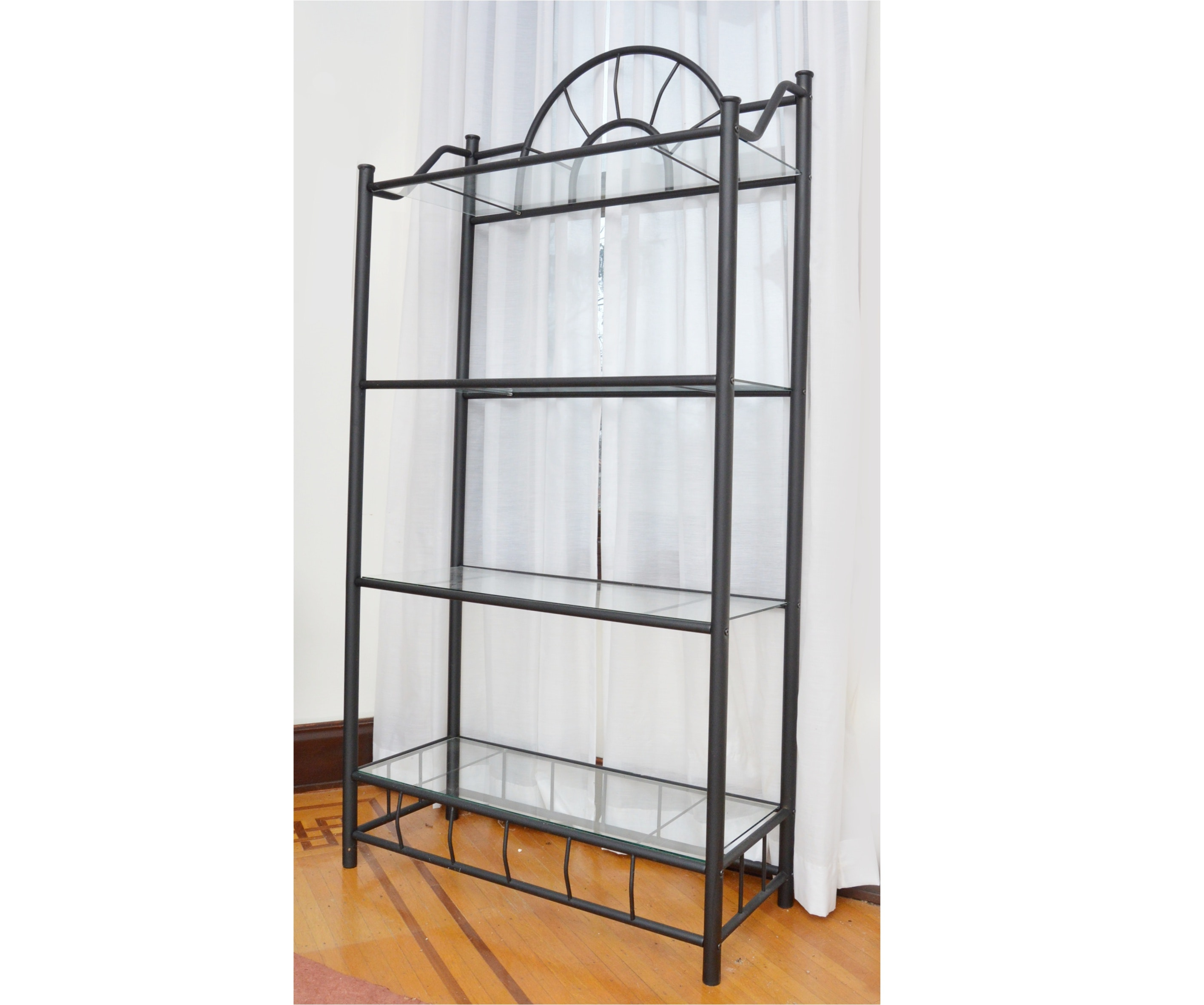 Black Iron Baker's Rack