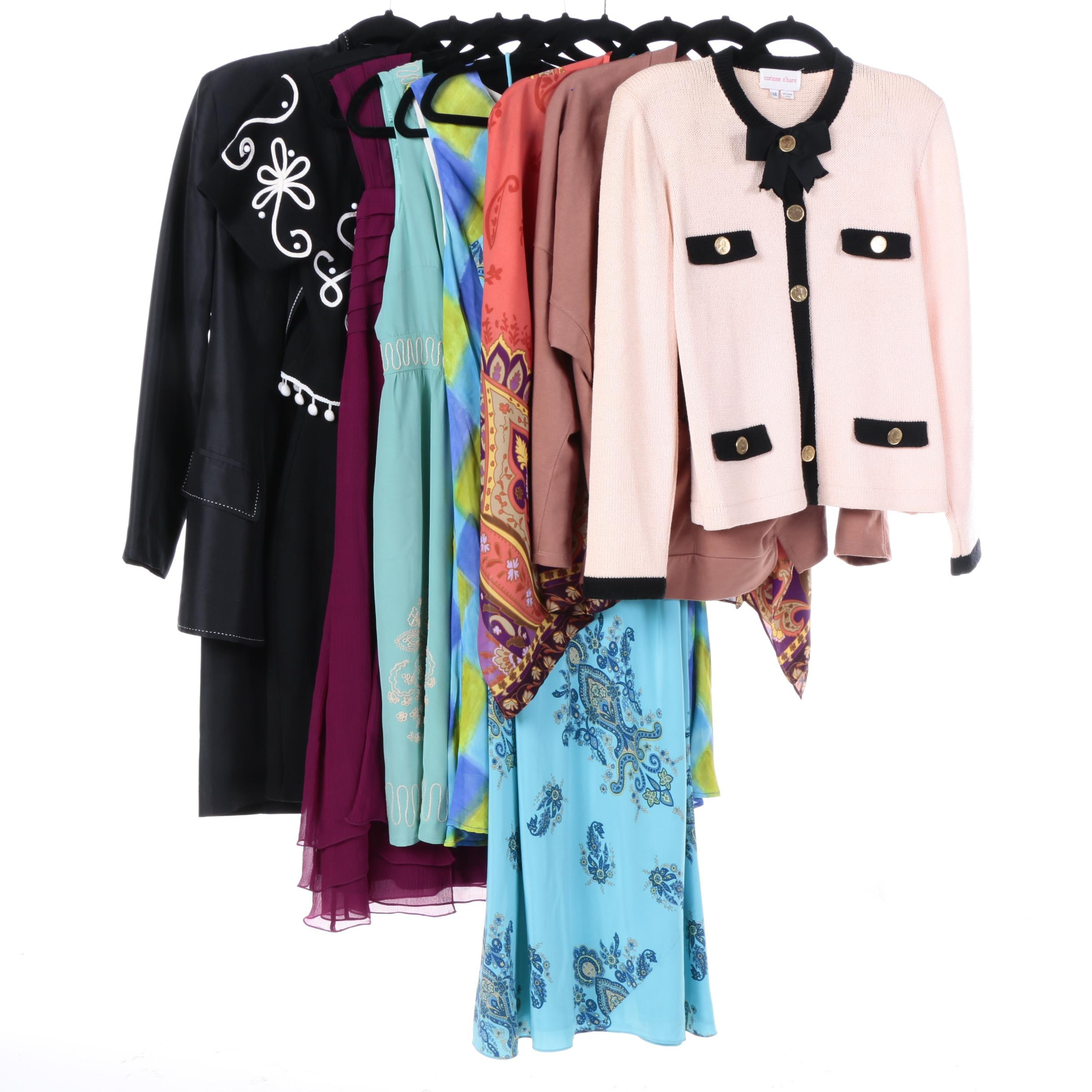 Women's Dresses and Jackets Including INC and Harris Wallace