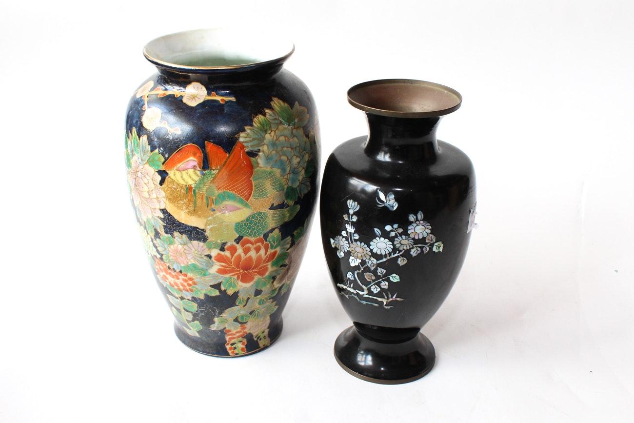 Decorative Asian Vessels