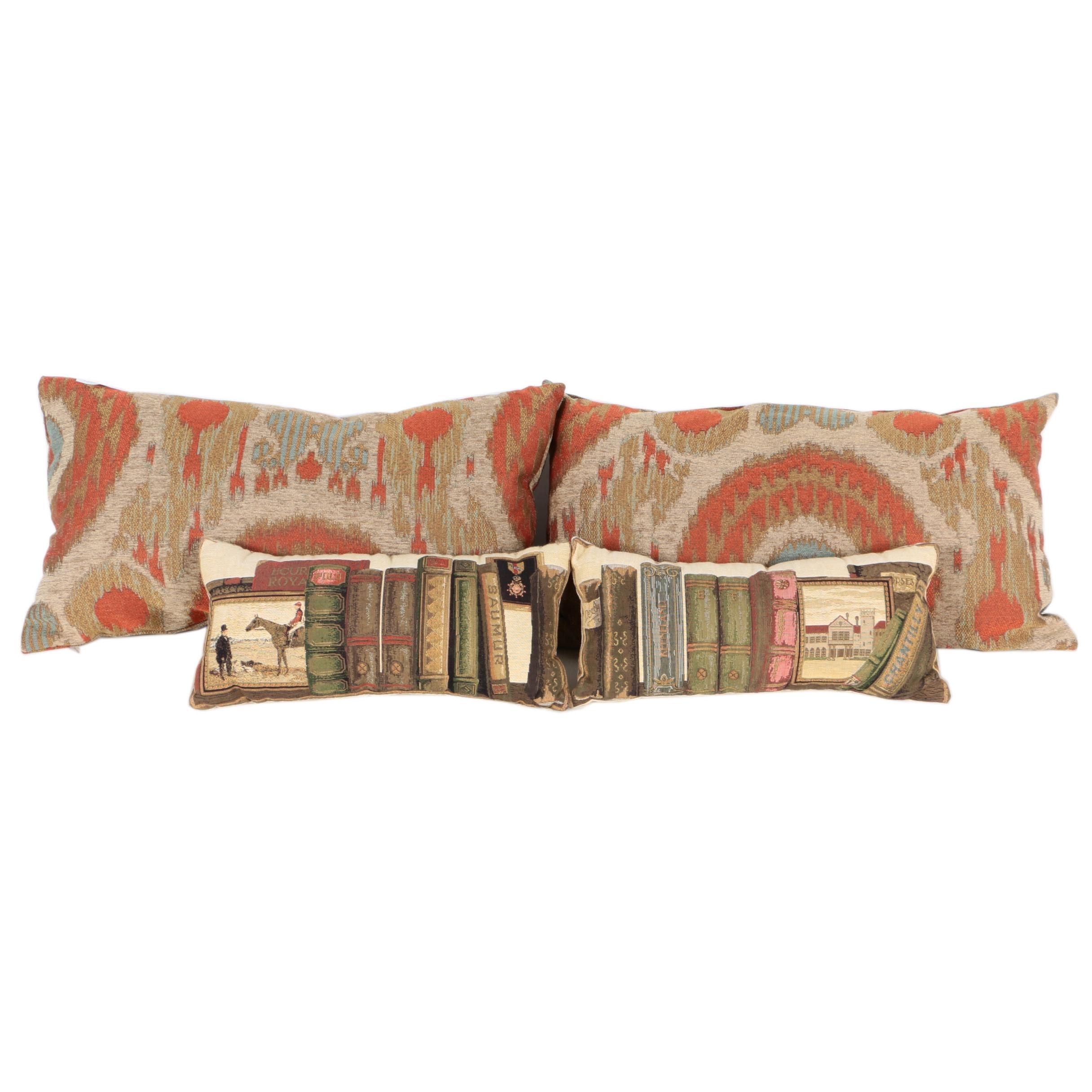 Collection of Four Rectangular Decorative Pillows