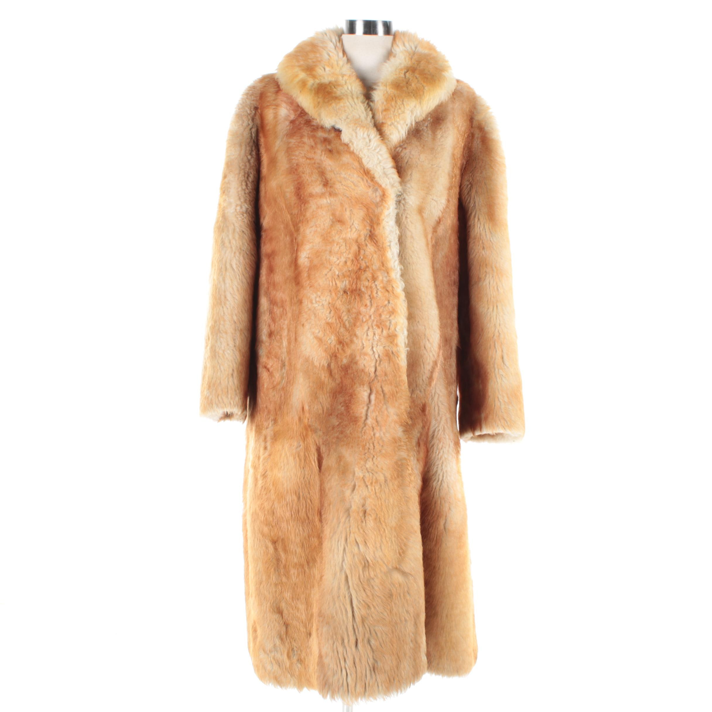 Vintage Wehrmeier Sheep Coat