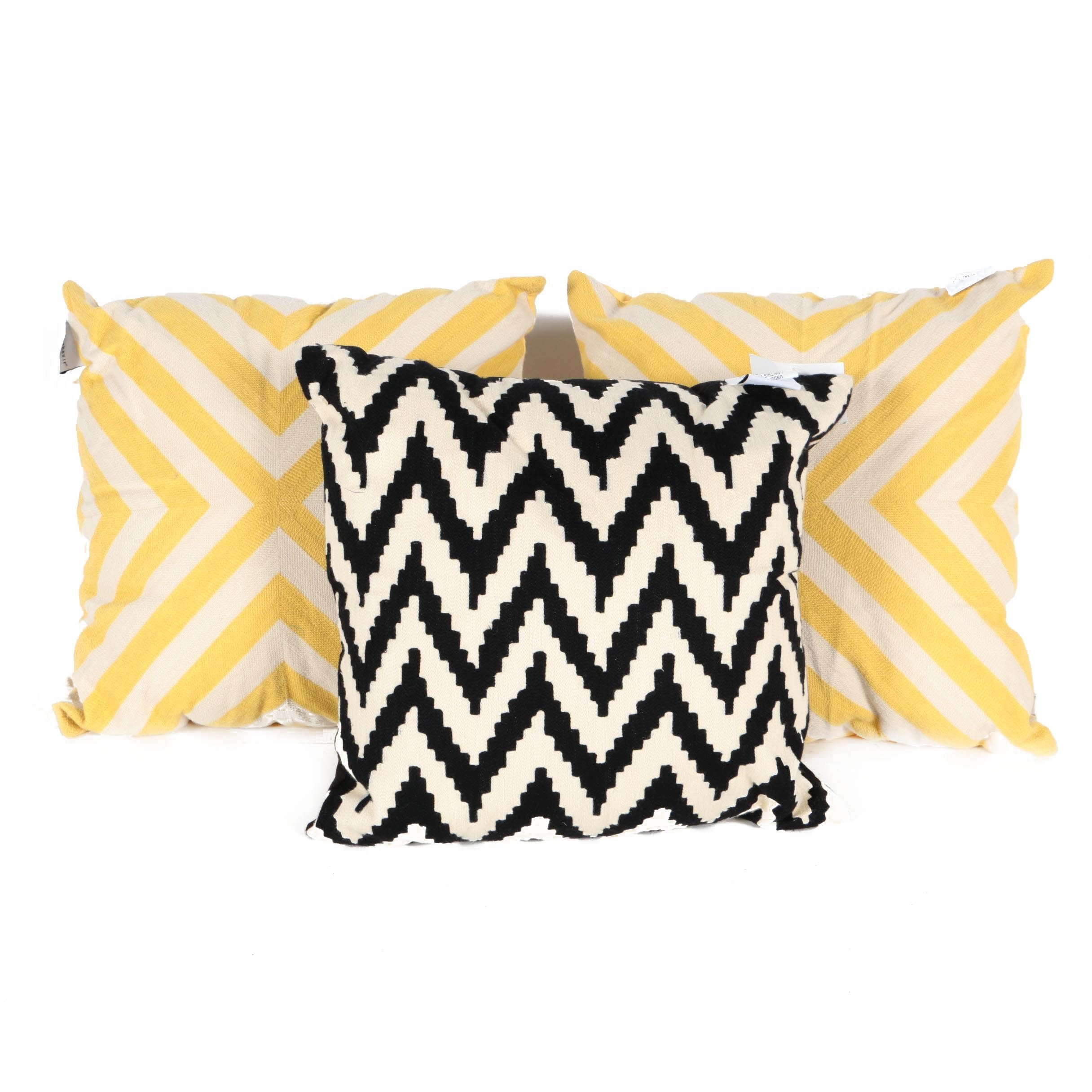 Collection of Three Decorative Pillows