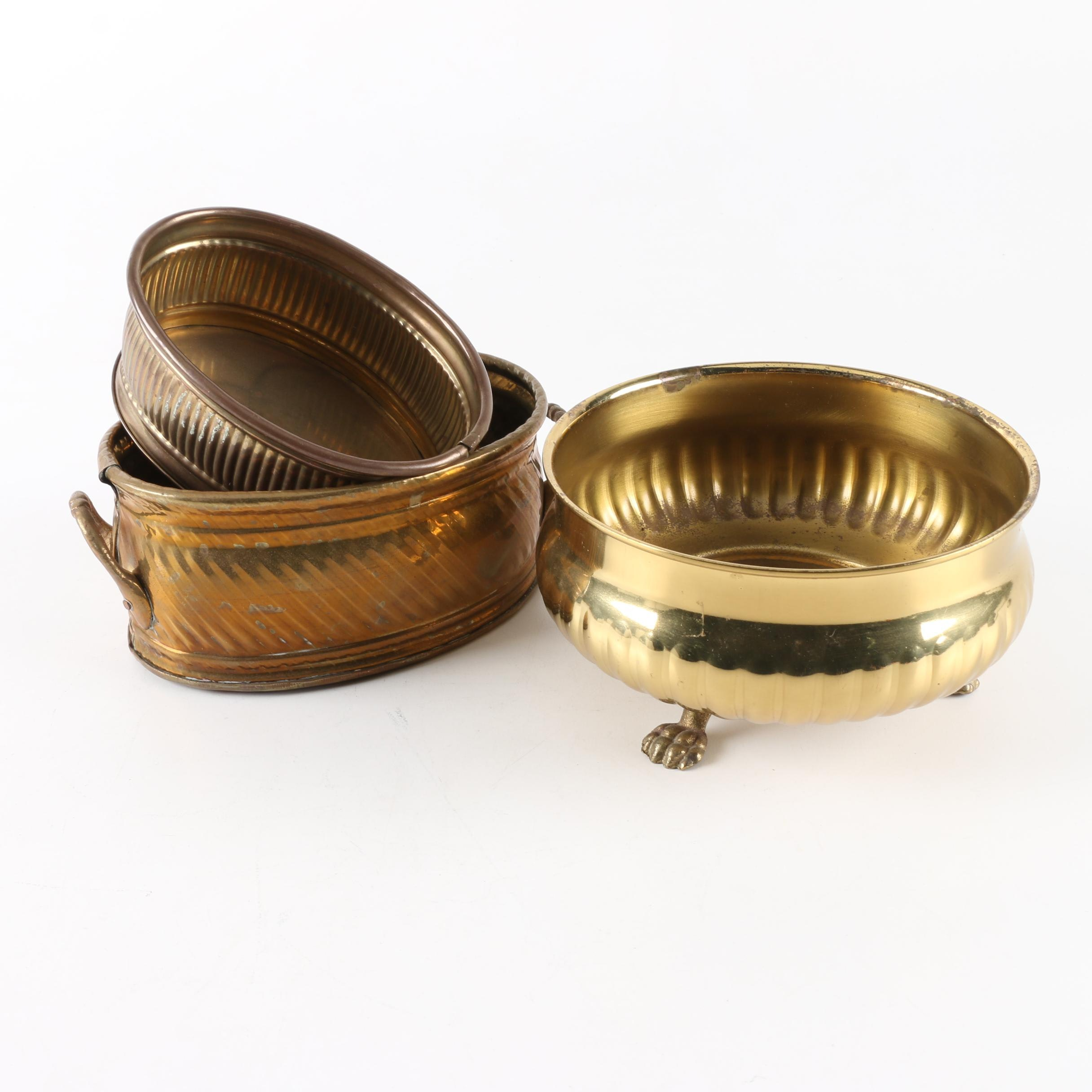 Brass Bowl Containers