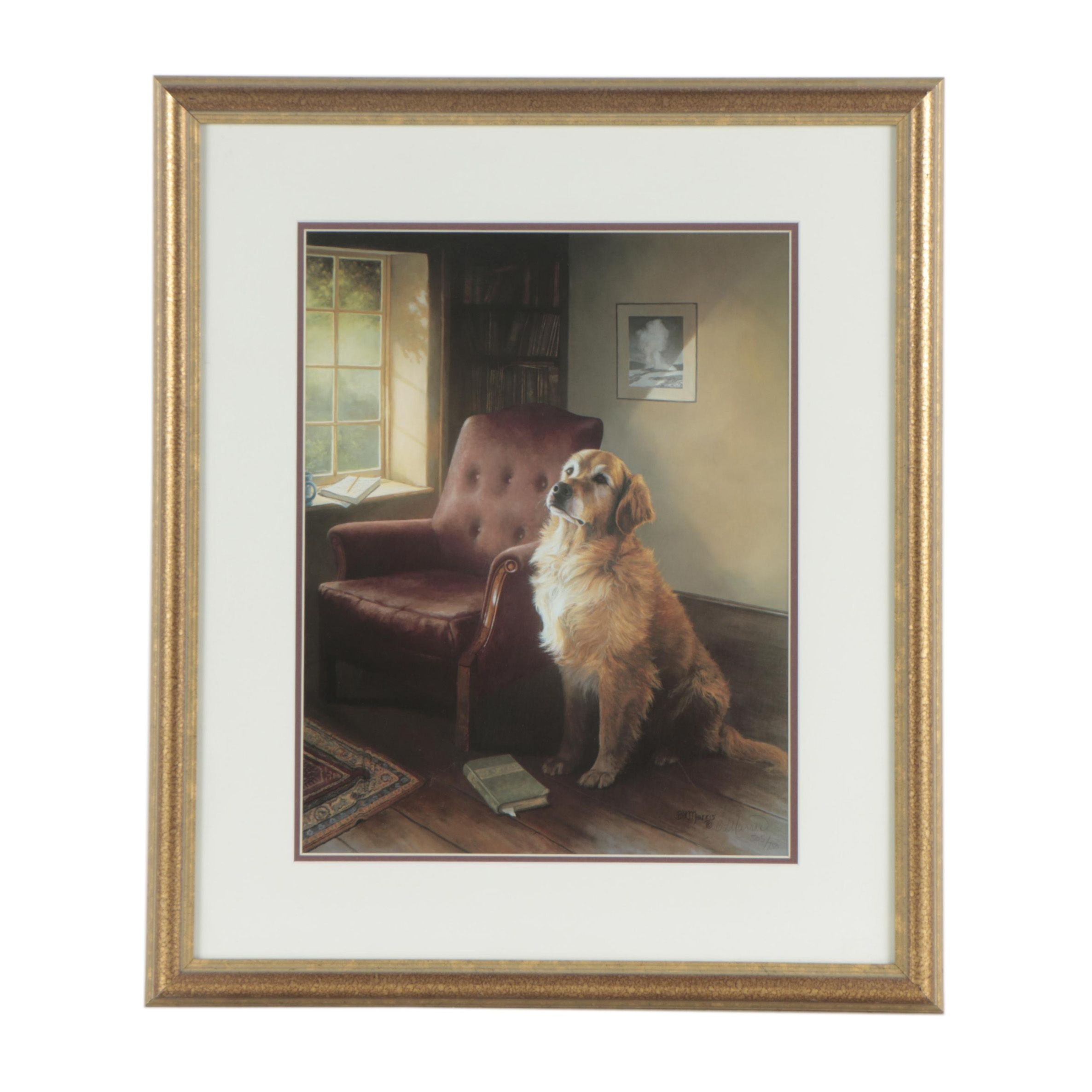 """Bonnie Marris Limited Edition Offset Lithograph """"Old Faithful"""""""