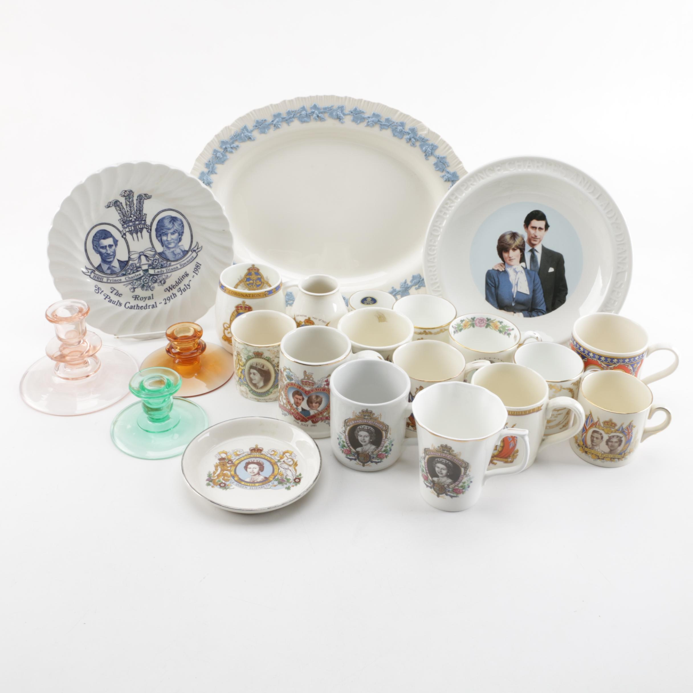 British Royal Family Commemorative Tableware and More