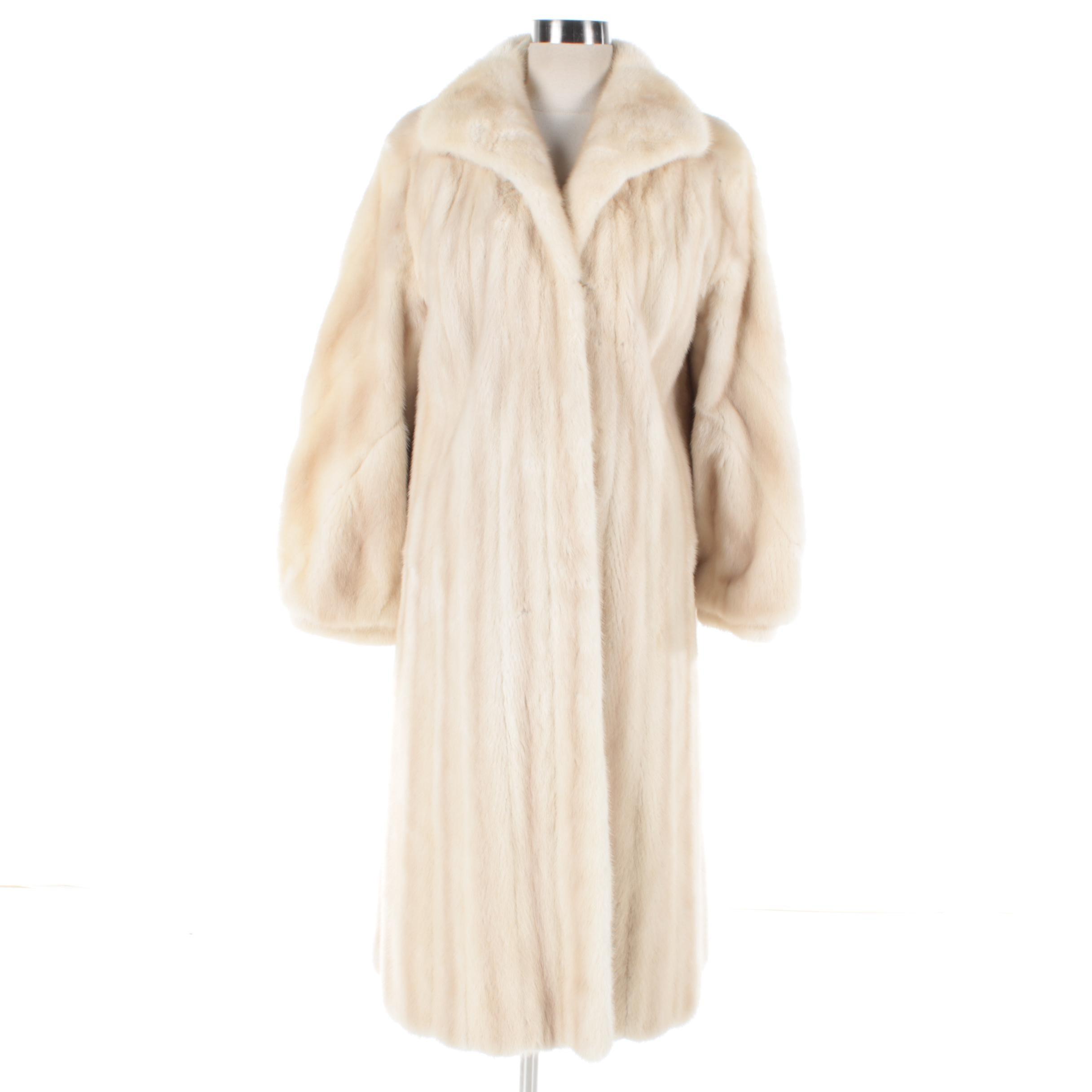 Women's Vintage Kakas Blonde Mink Fur Coat