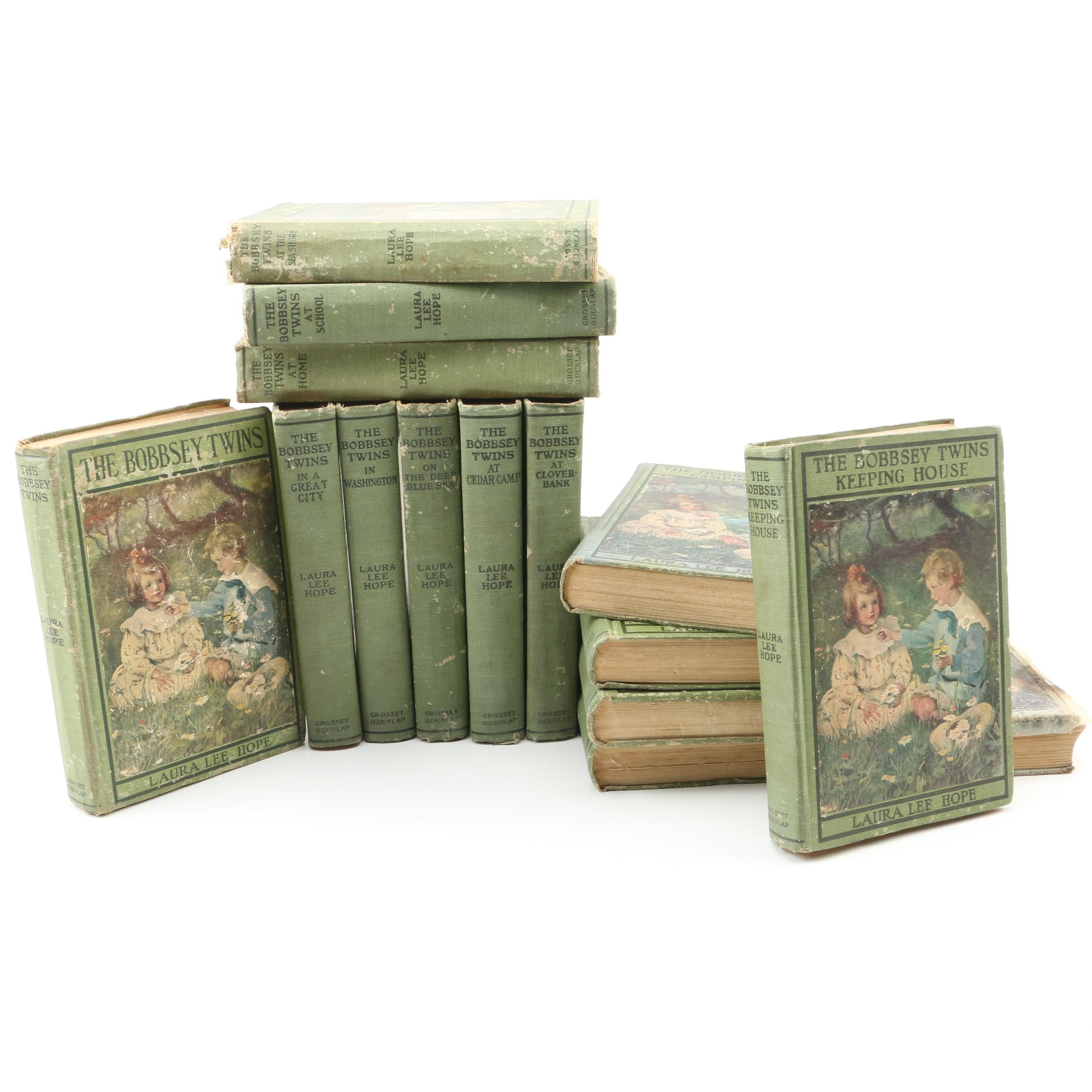 "Early-20th Century ""The Bobbsey Twins"" Books by Laura Lee Hope"