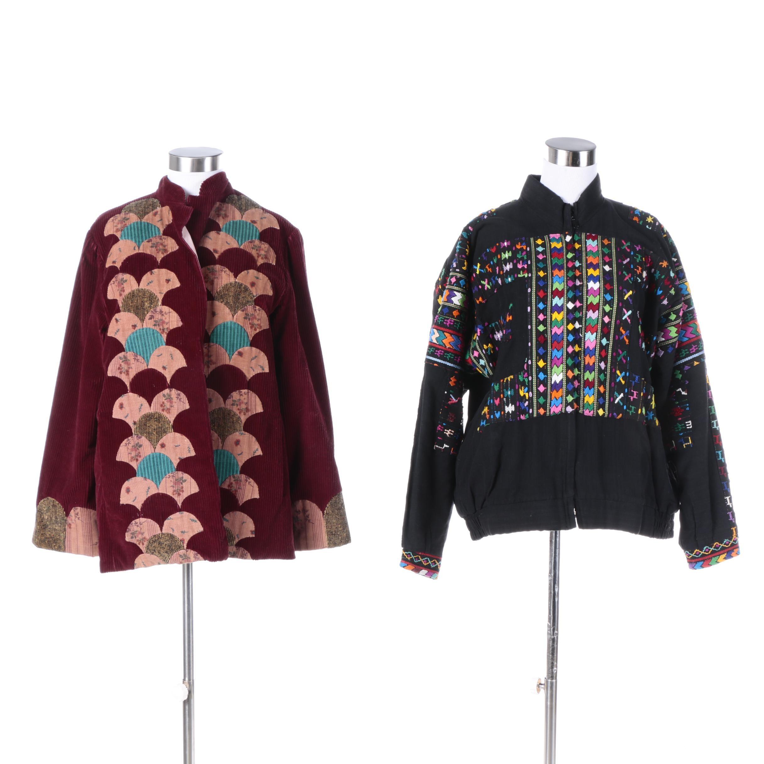 Women's Vintage Embellished Jackets