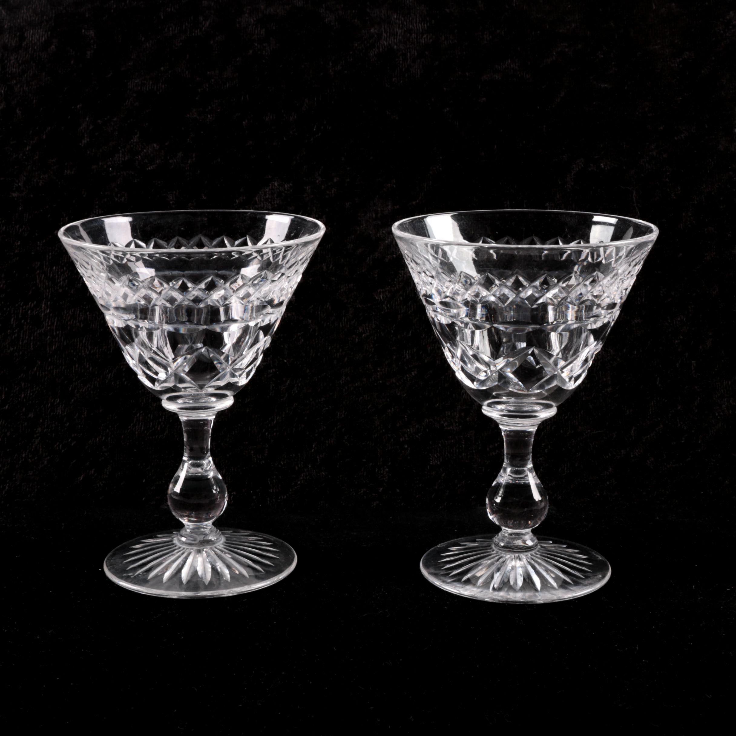Stuart Crystal Cordial Glasses