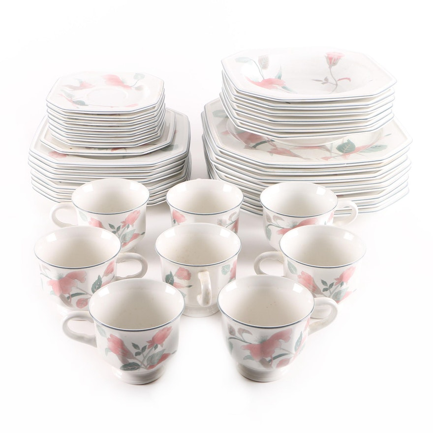 Mikasa silk flowers porcelain tableware ebth mikasa silk flowers porcelain tableware mightylinksfo