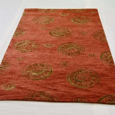 Hand Woven Transitional Persian Wool Area Rug