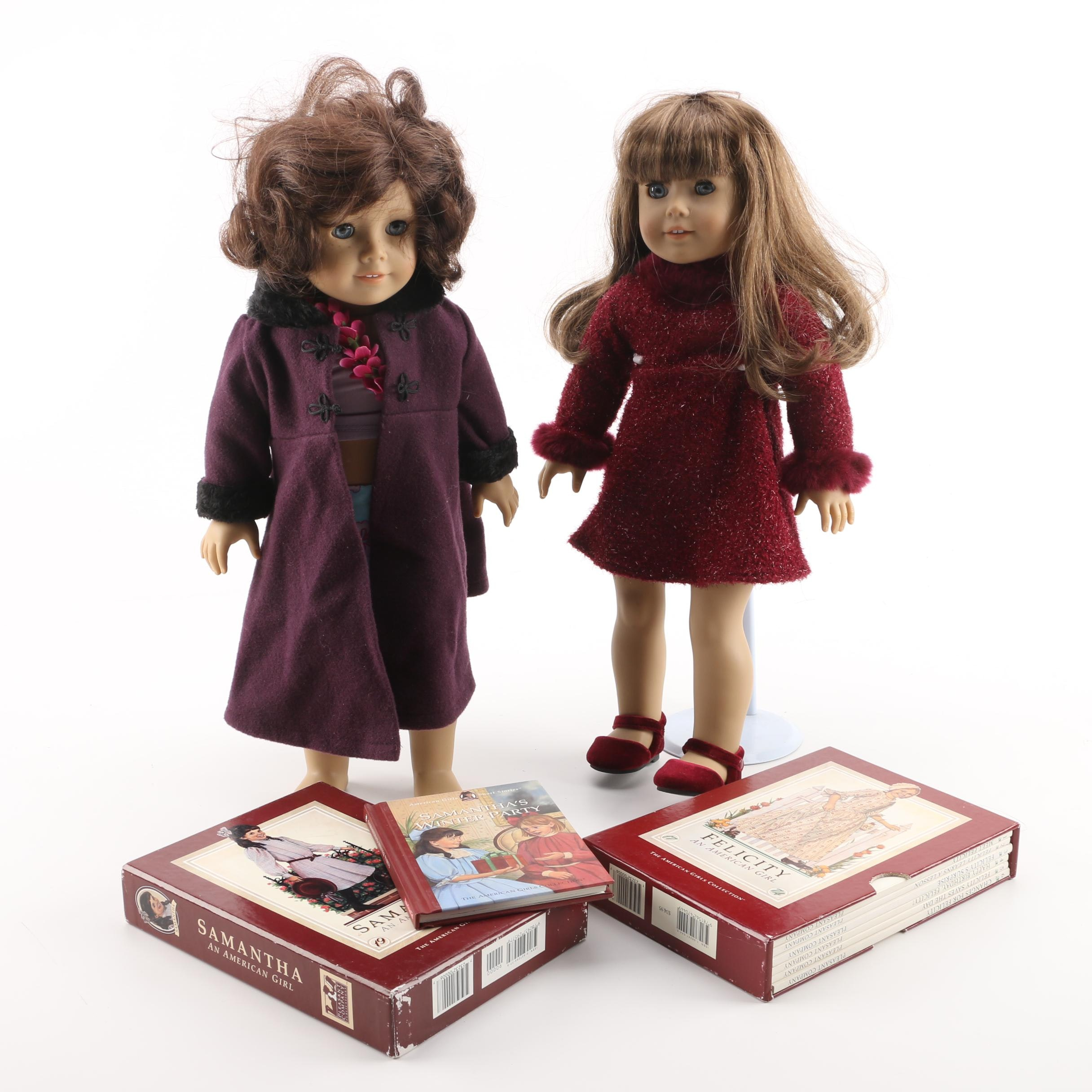 """2001 American Girl of the Year """"Lindsey"""" and """"Girl of Today"""" Dolls"""