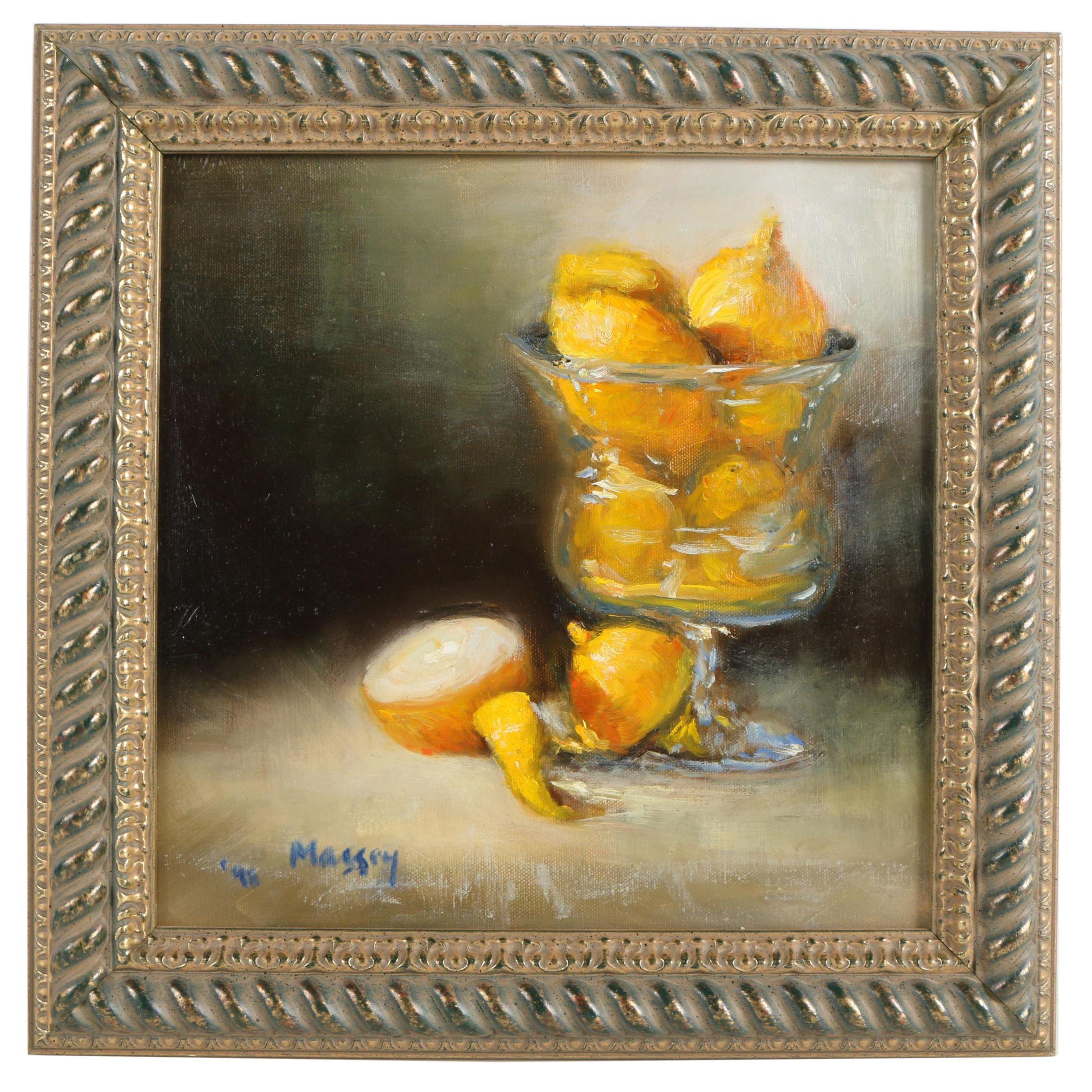 M. Kathryn 1998 Massey Oil Painting