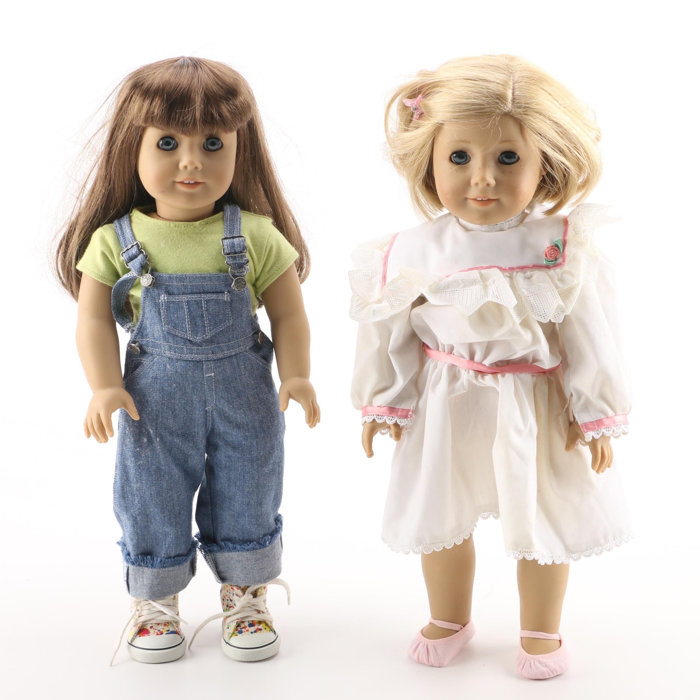 """American Girl """"Kit"""" and """"Just Like You"""" Dolls"""