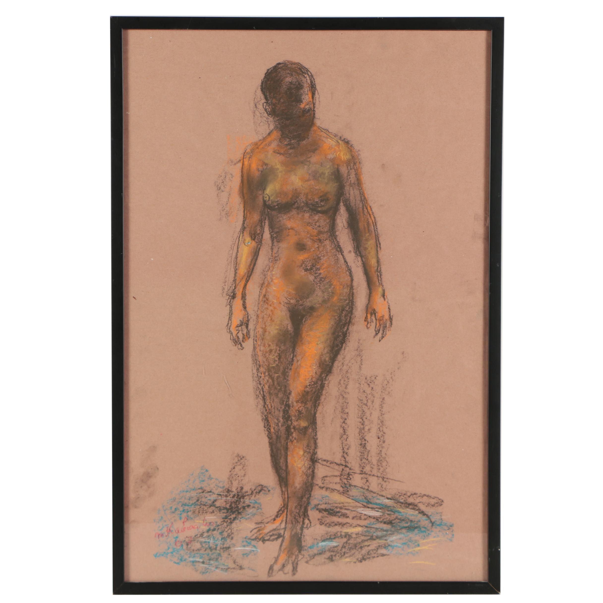 Murat Kaboulov Pastel Drawing