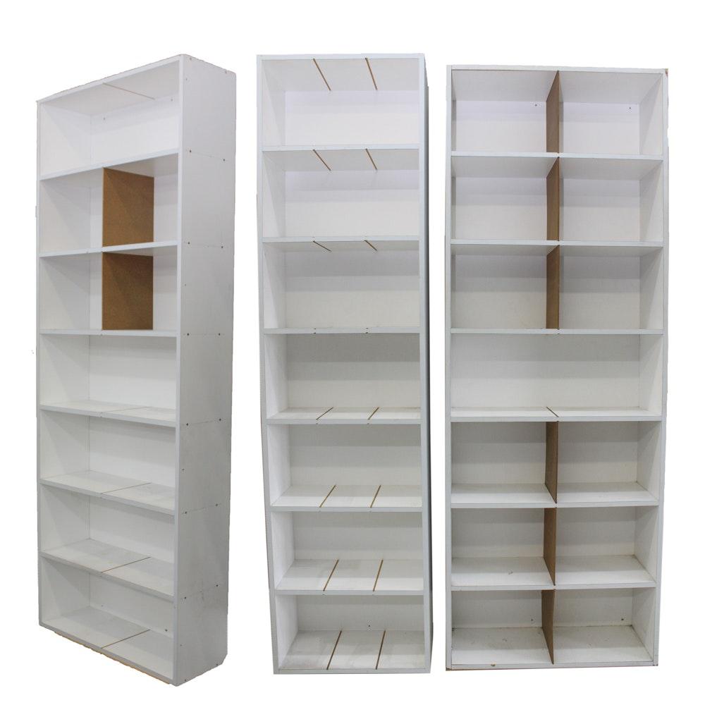 White Composite Shelves