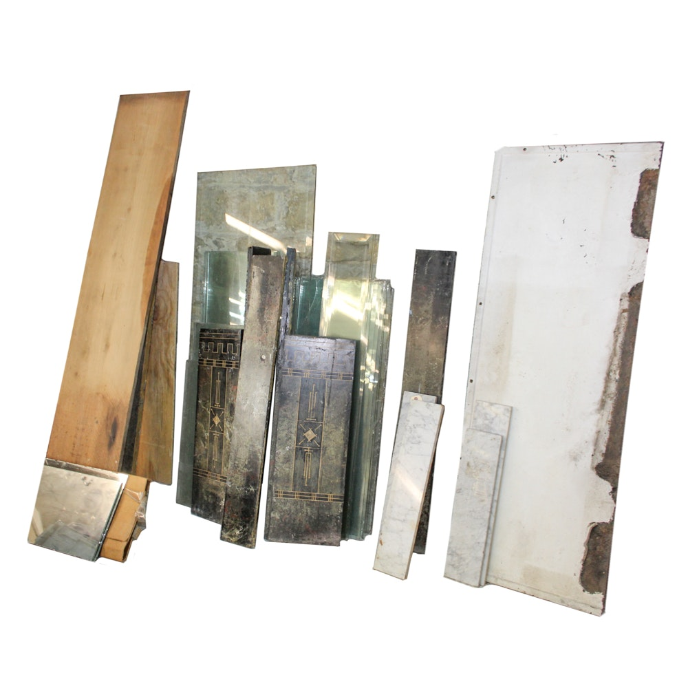 Marble and Glass Panels
