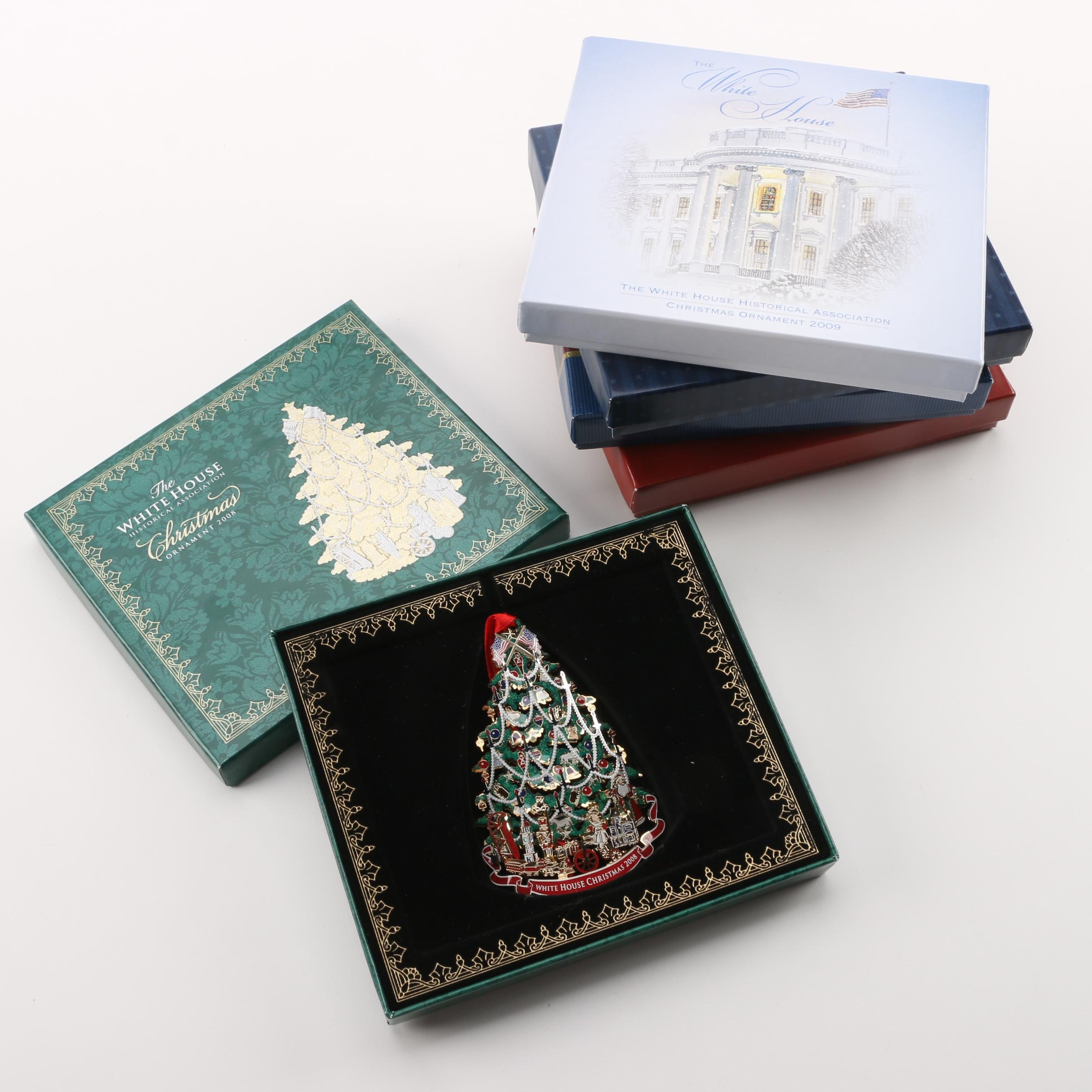 The White House Historical Association Christmas Ornaments