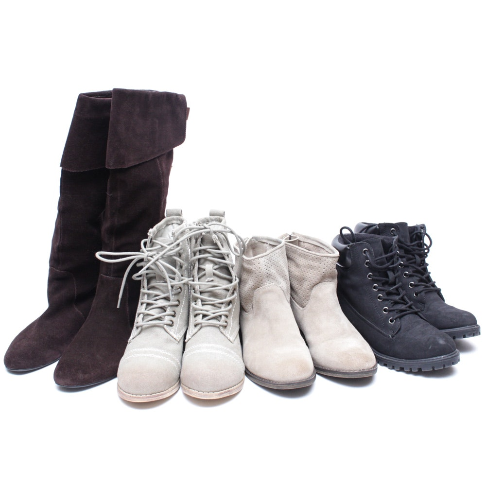 Women's Boots Featuring Nine West