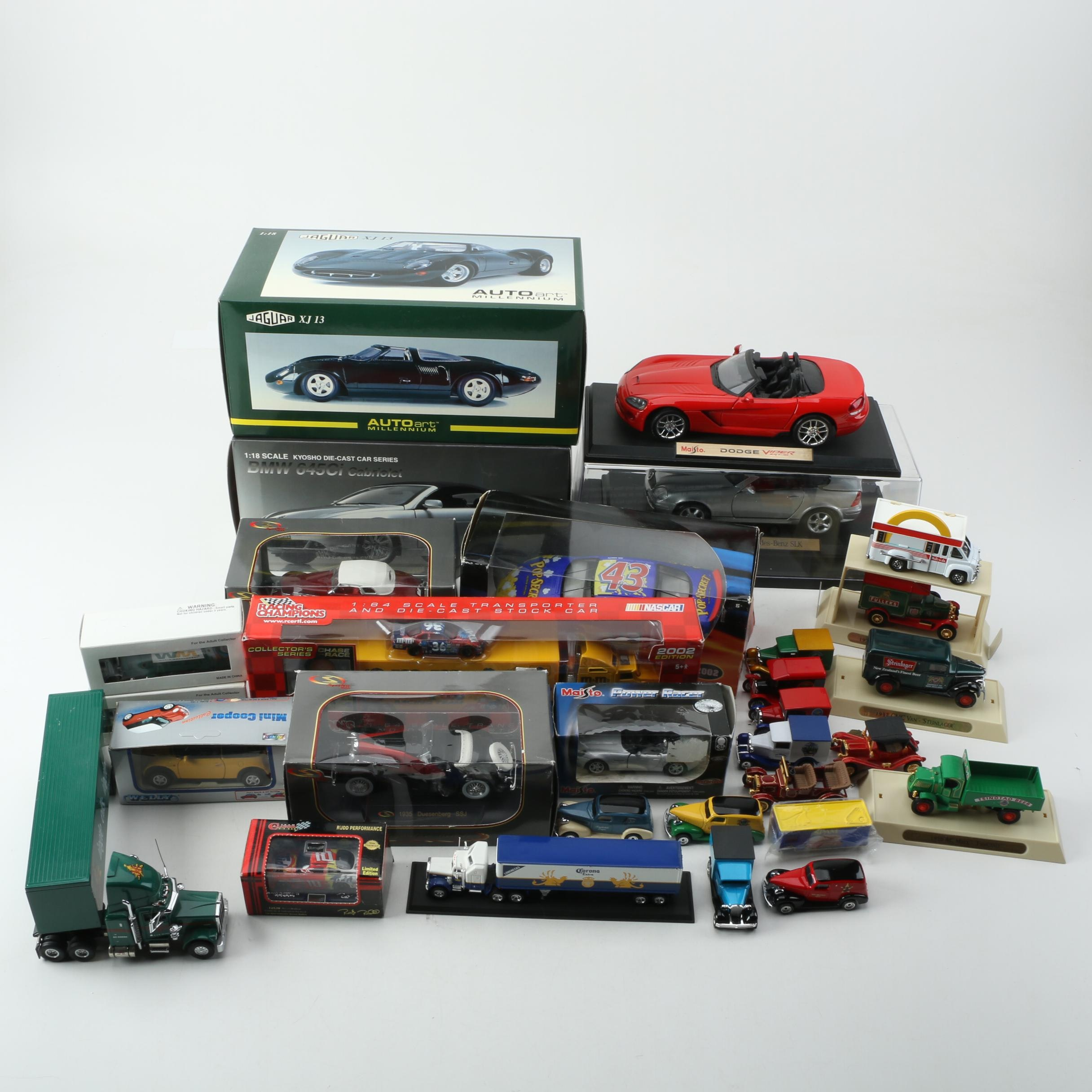 Die-Cast Cars and Trucks Including Limited Edition Matchbox