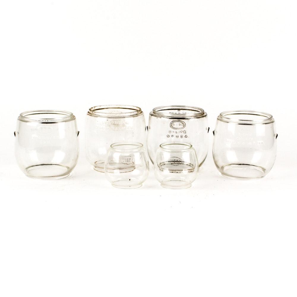 Dietz Lantern Glasses