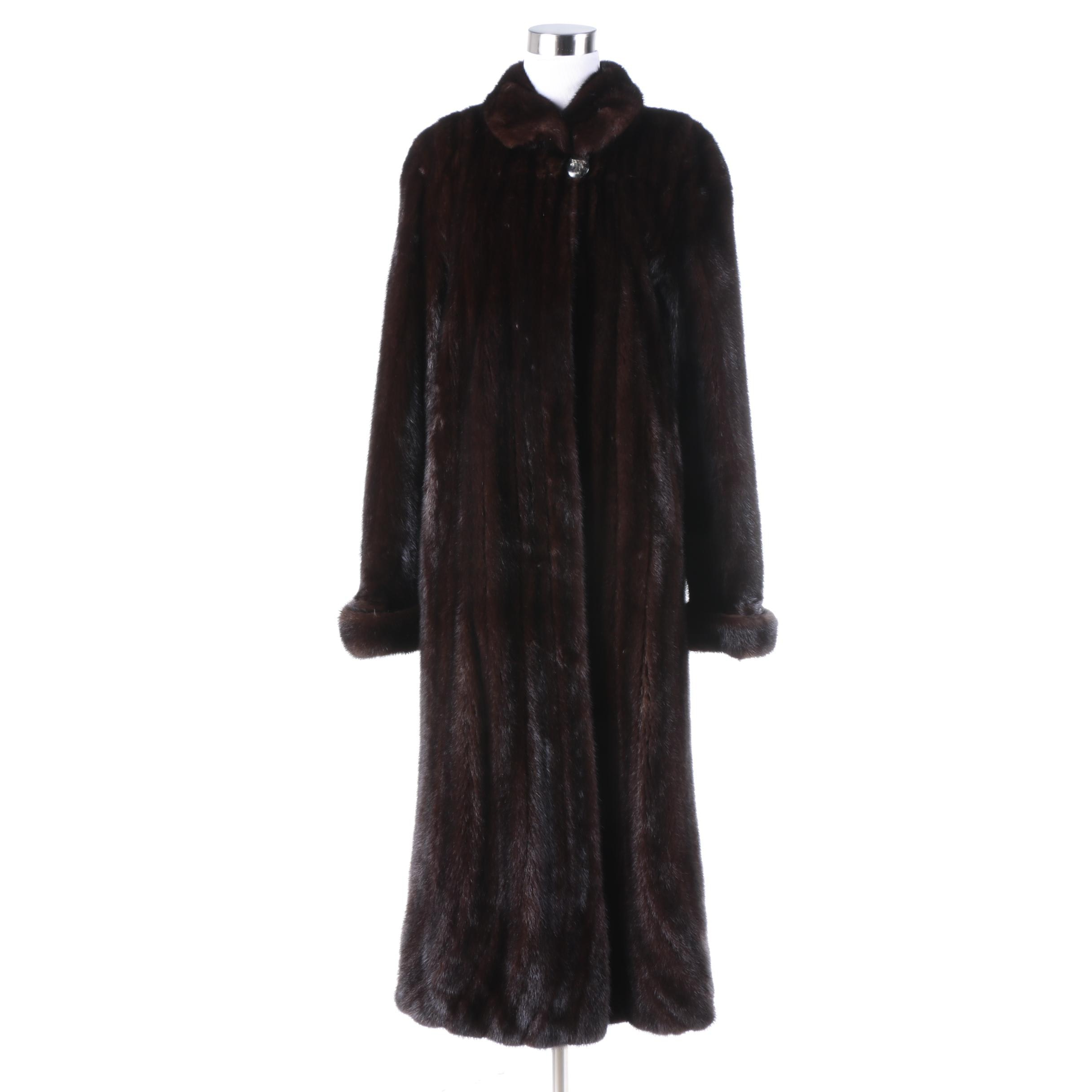 Women's Mink Fur Coat by Saga Furs