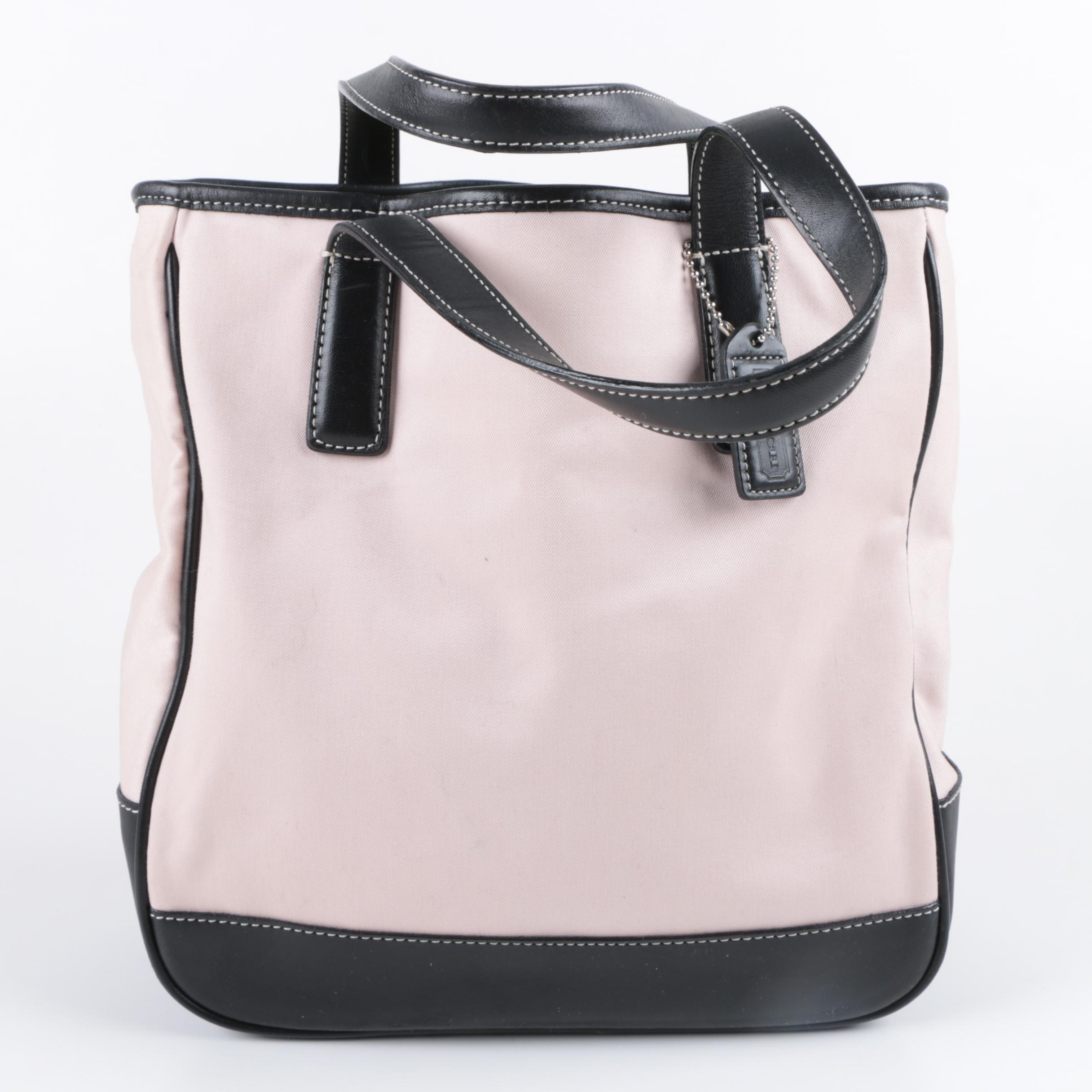 Coach Hamptons Canvas Lunch Tote