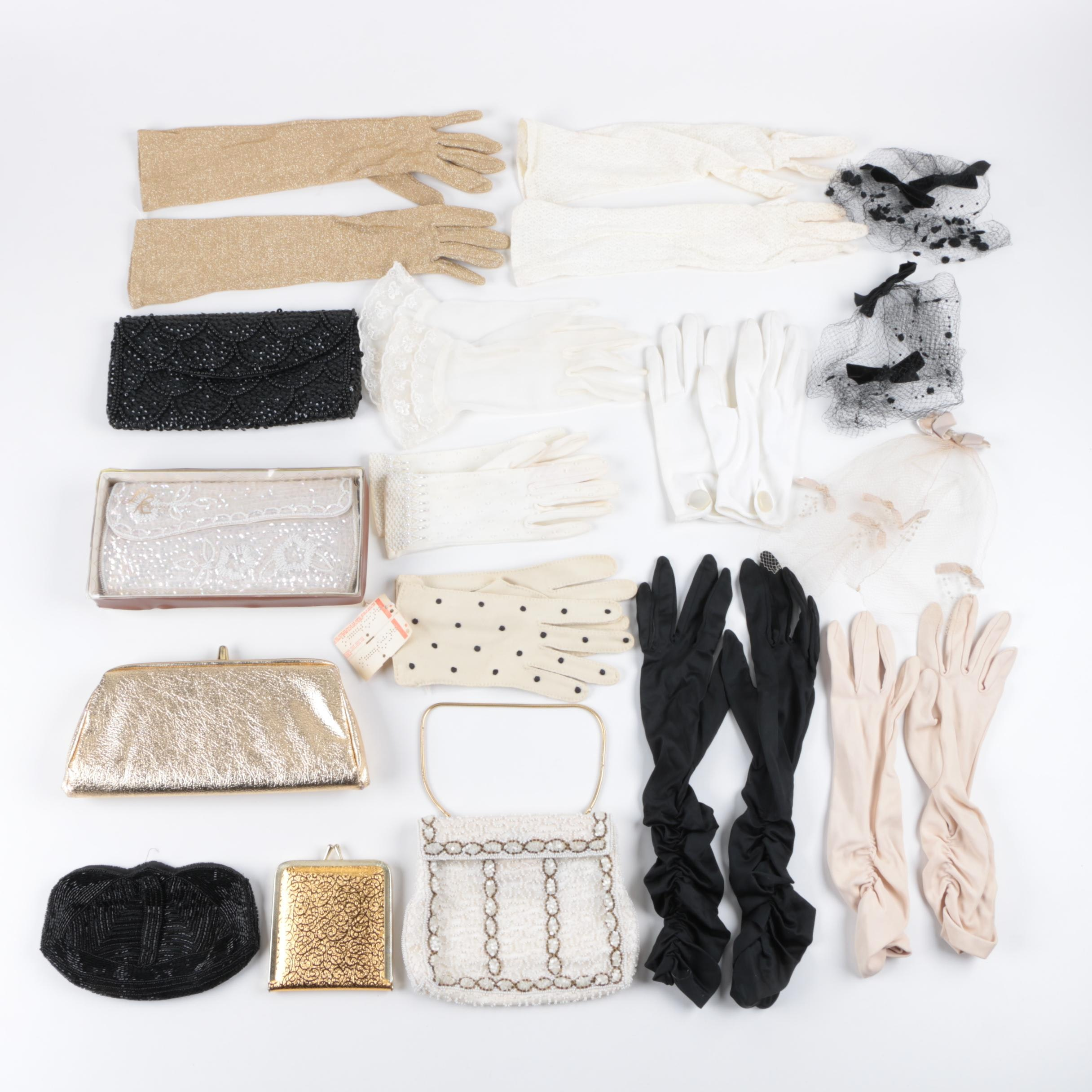 Women's Vintage Handbags, Gloves and Fashion Accessories